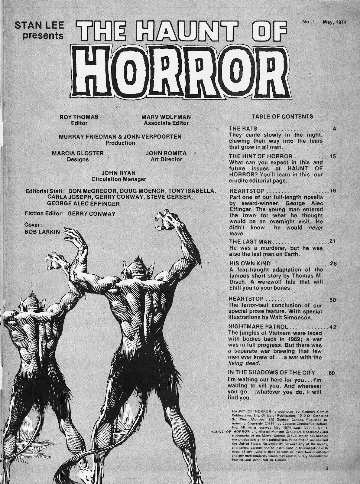 Haunt of Horror issue 1 - Page 3