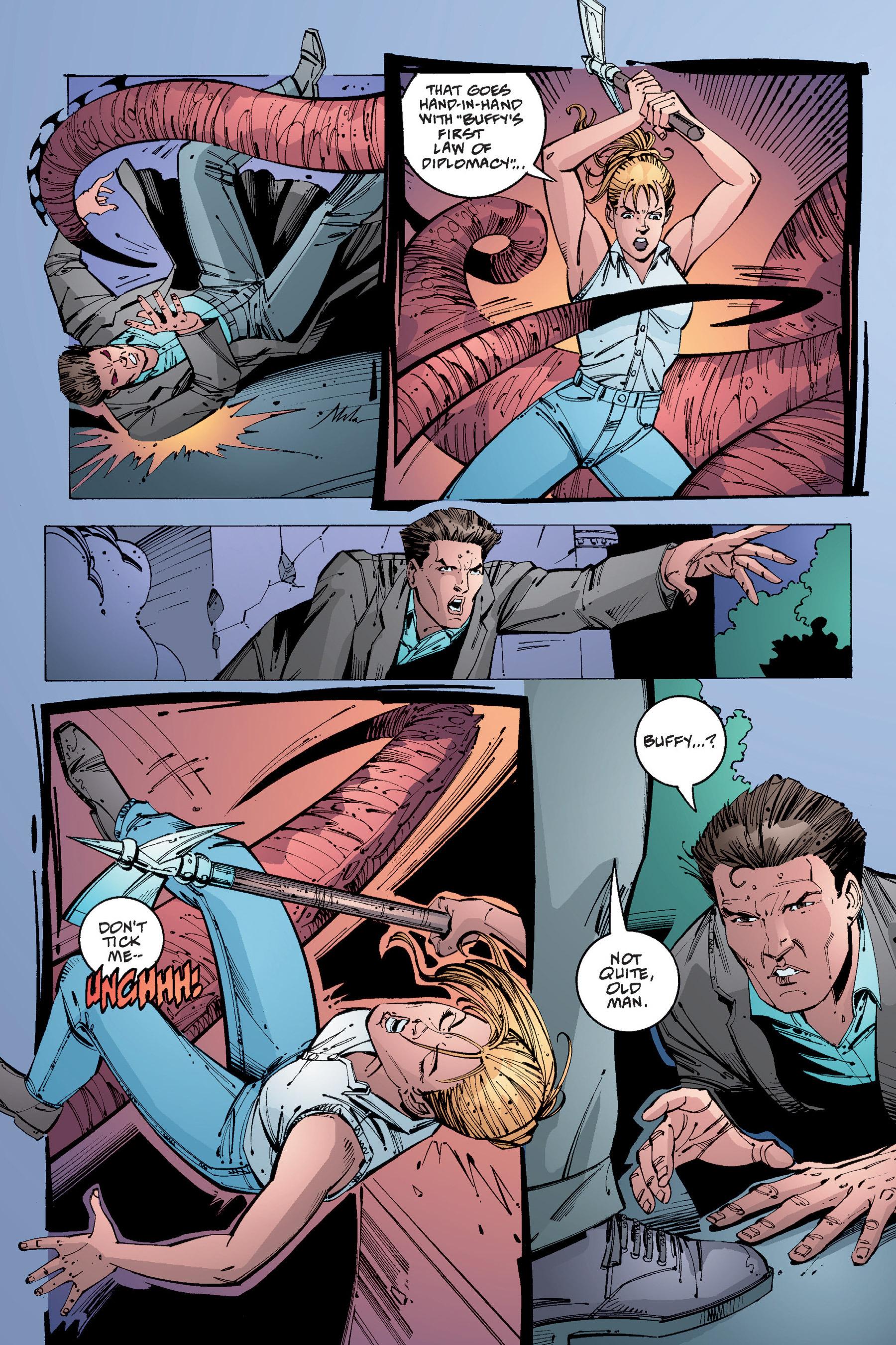 Read online Buffy the Vampire Slayer: Omnibus comic -  Issue # TPB 4 - 336