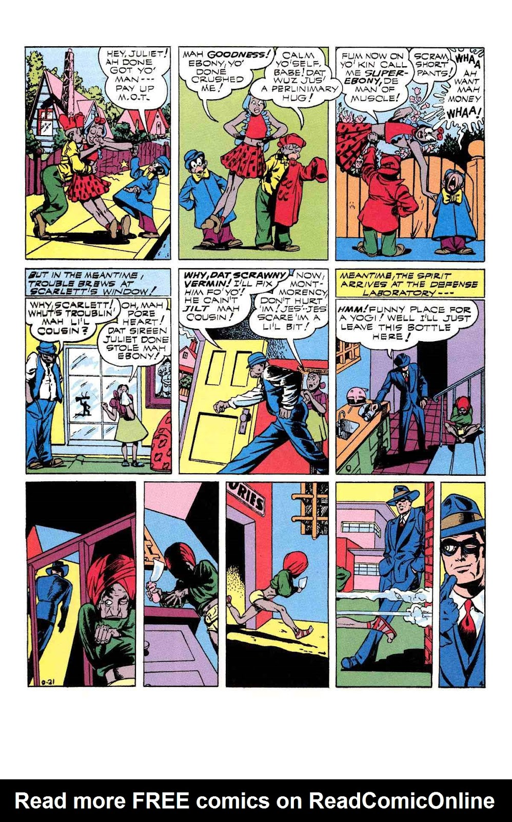 Read online Will Eisner's The Spirit Archives comic -  Issue # TPB 3 (Part 1) - 93