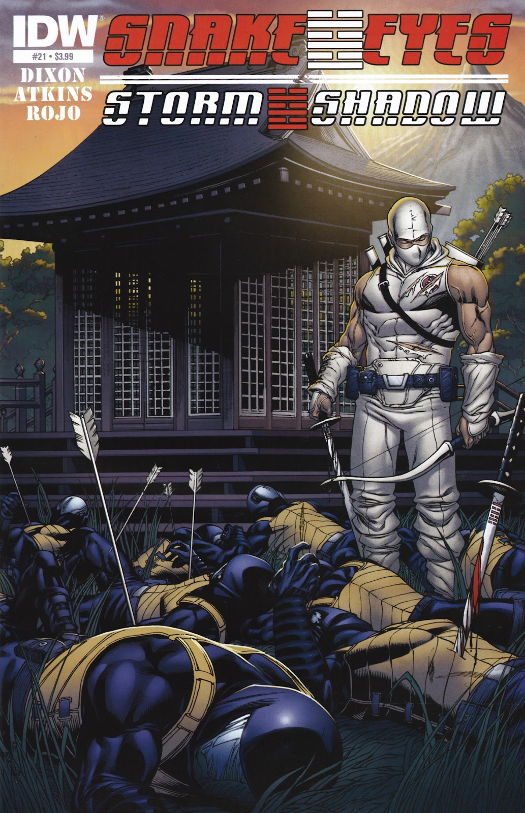 Snake Eyes and Storm Shadow issue 21 - Page 1