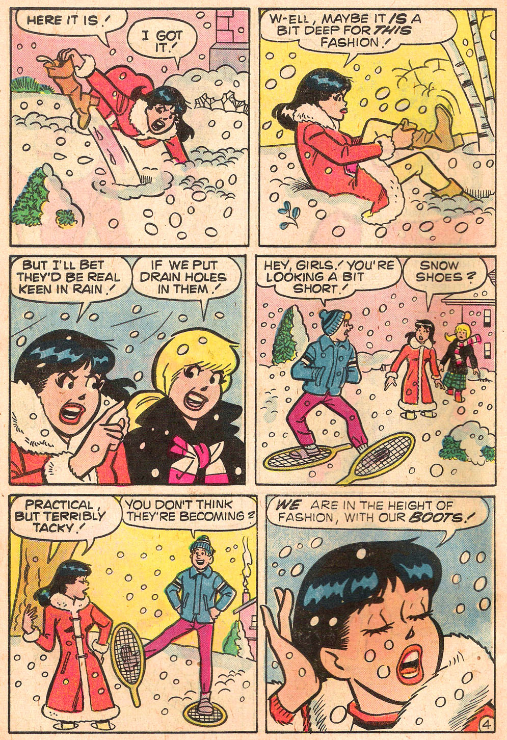 Read online Archie's Girls Betty and Veronica comic -  Issue #268 - 6