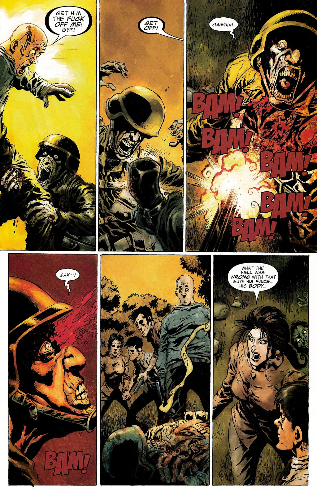 Read online Zombie (2006) comic -  Issue #1 - 13