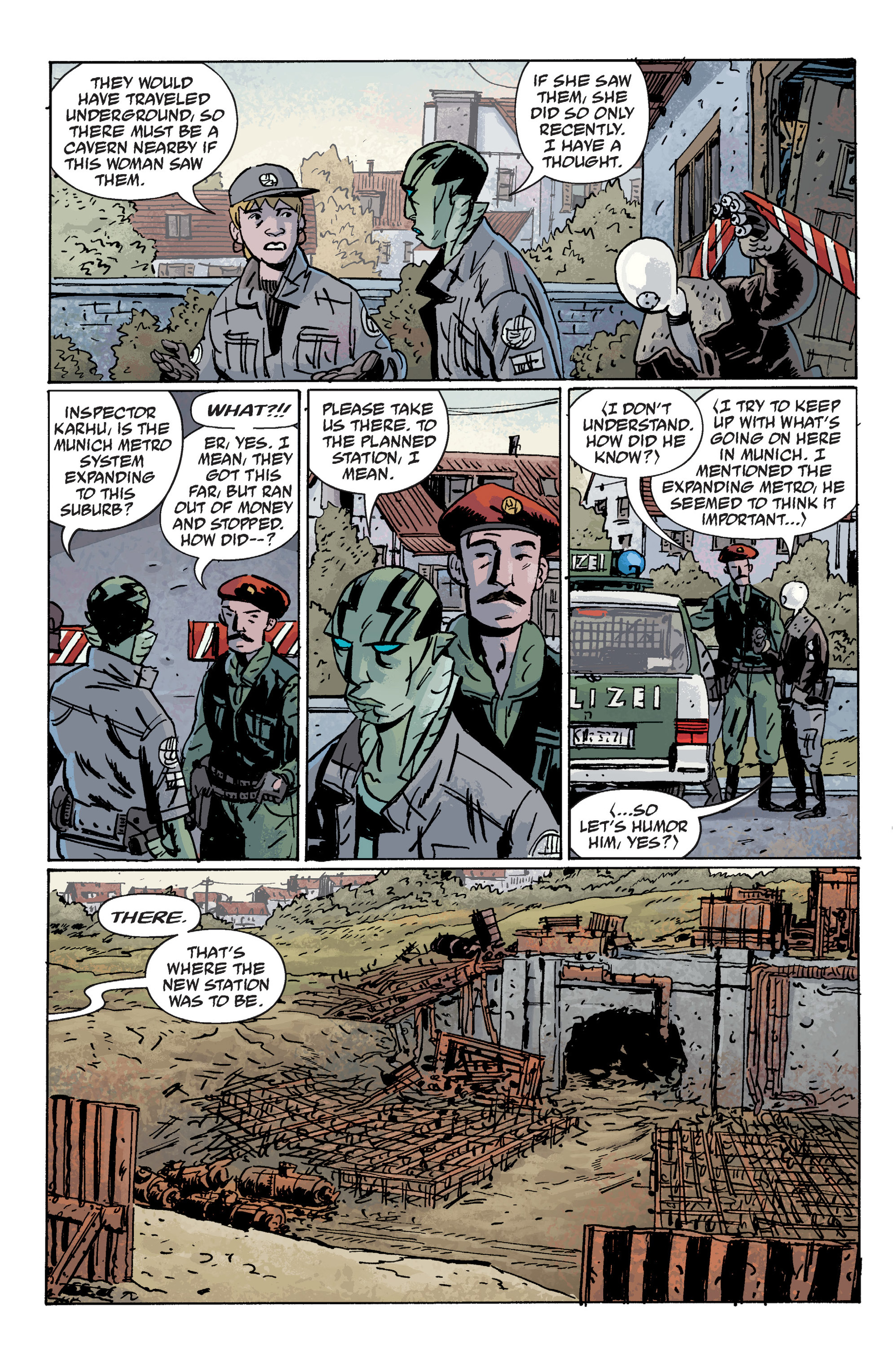 Read online B.P.R.D. (2003) comic -  Issue # TPB 10 - 78