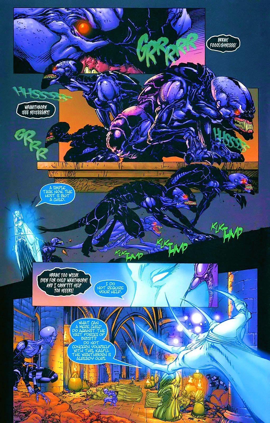 Read online Wraithborn comic -  Issue #4 - 8