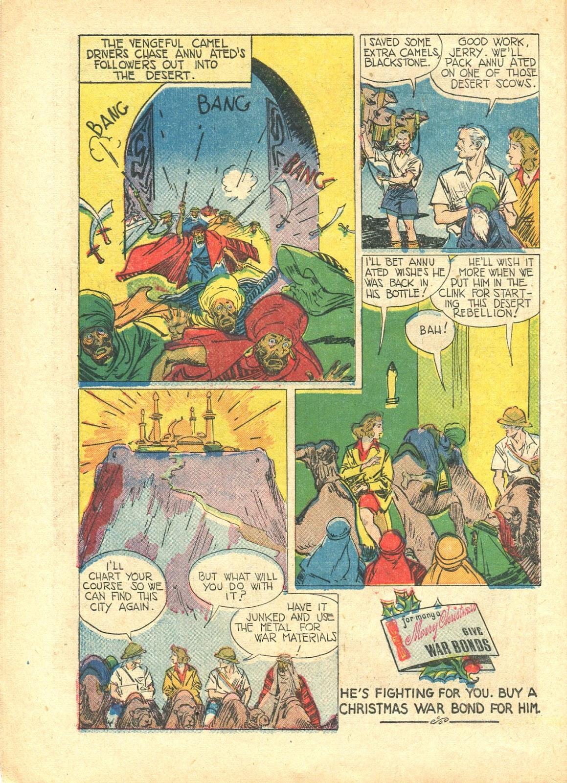 Read online Super-Magician Comics comic -  Issue #21 - 16