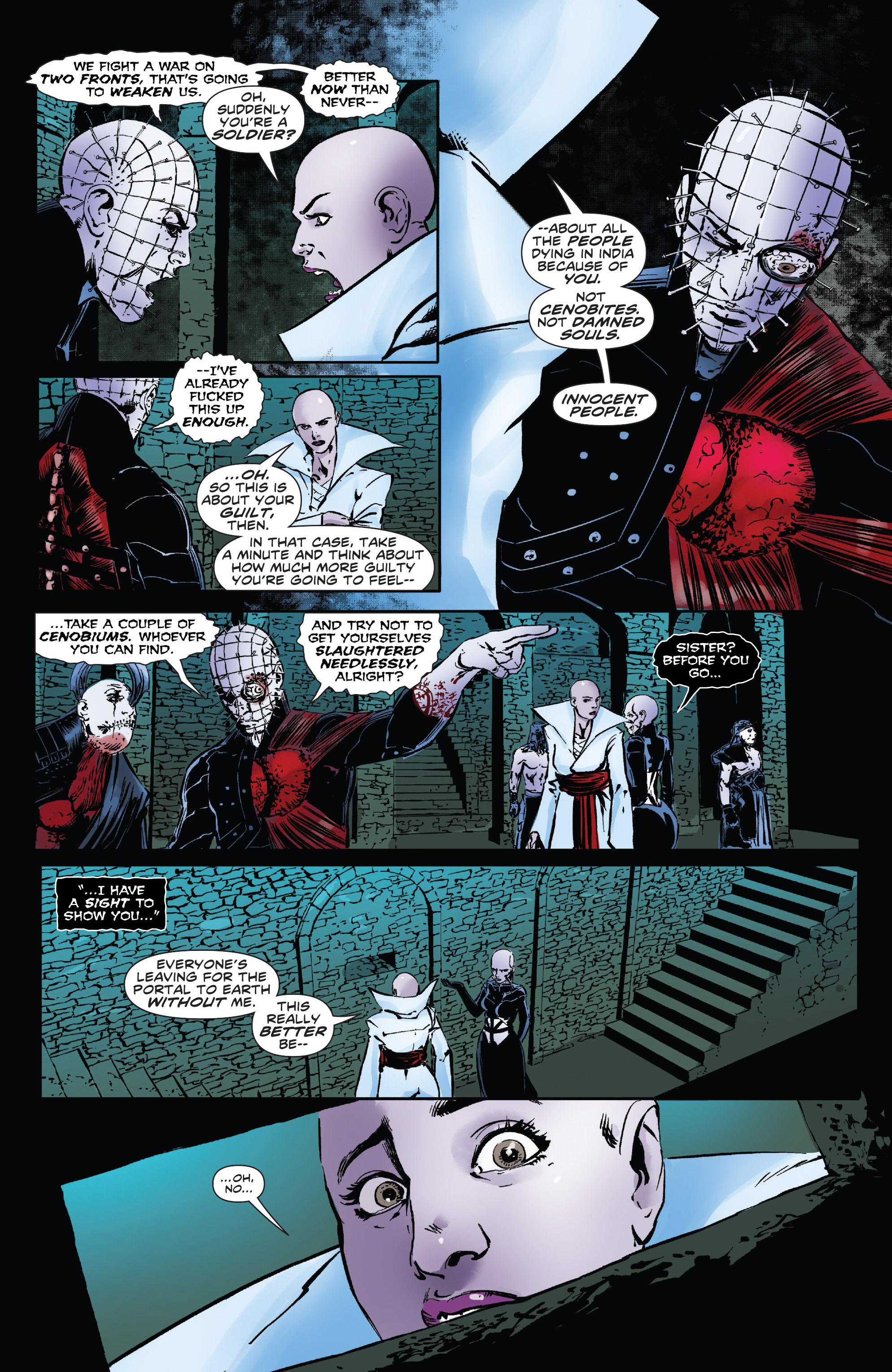Read online Clive Barker's Hellraiser: The Dark Watch comic -  Issue # TPB 3 - 87