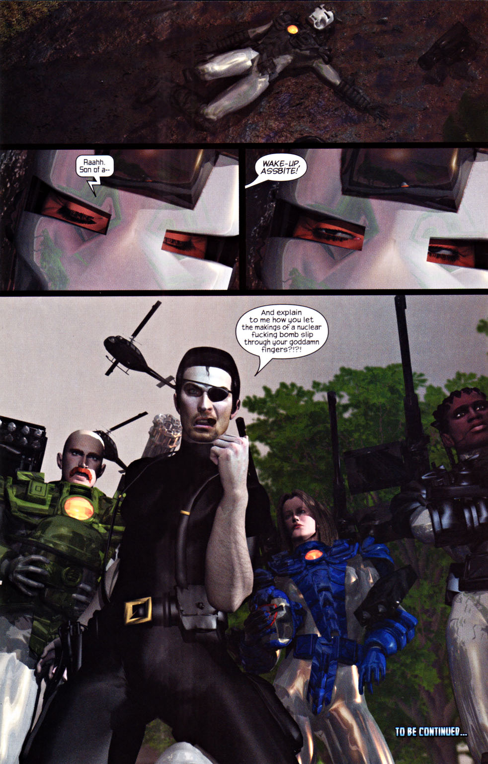 Read online U.S. War Machine 2.0 comic -  Issue #1 - 26
