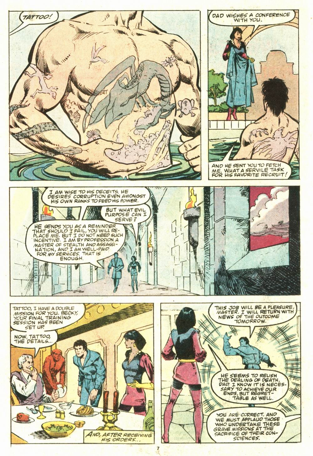 Read online Justice (1986) comic -  Issue #8 - 8