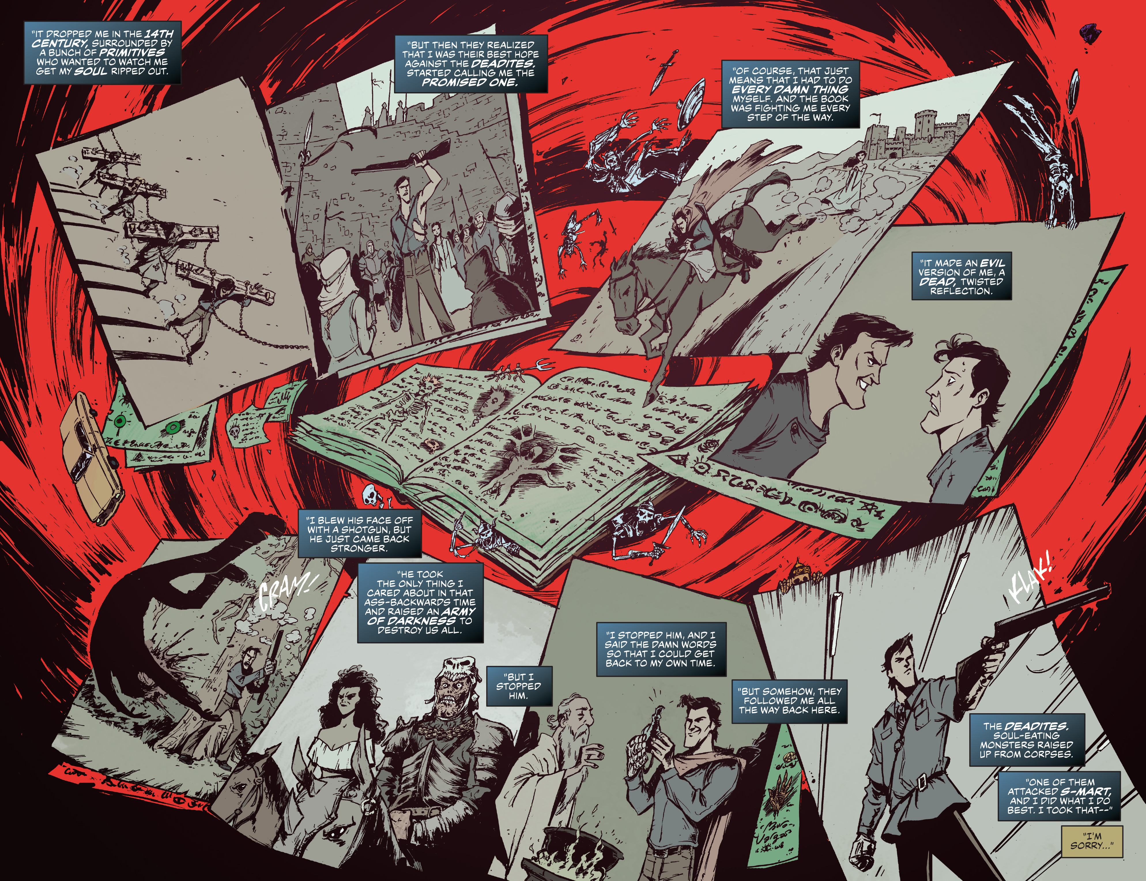 Read online Ash Vs. The Army of Darkness comic -  Issue #0 - 7