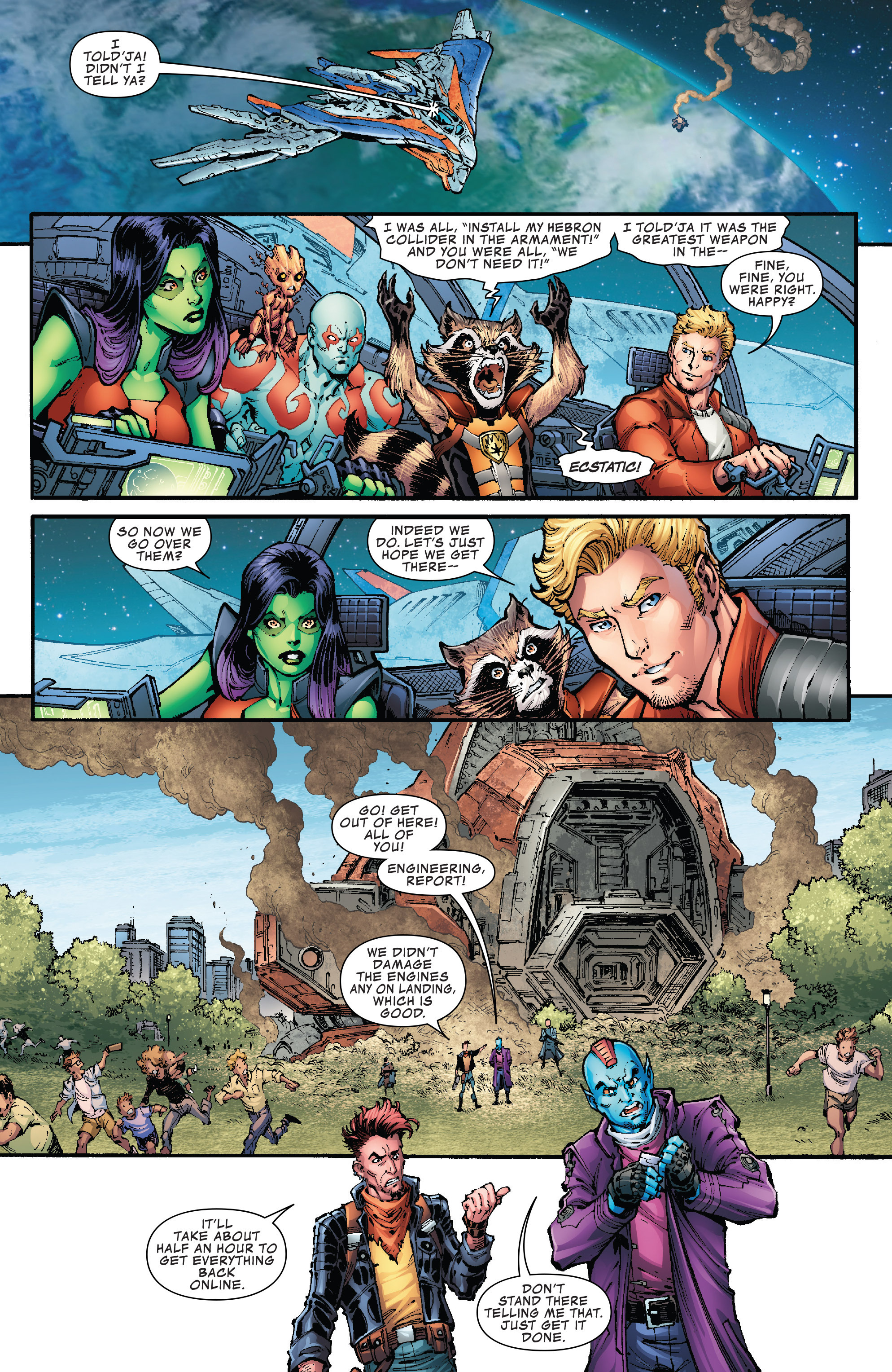 Read online Hi-Tech Heroes Presented By Hanes comic -  Issue # Full - 6
