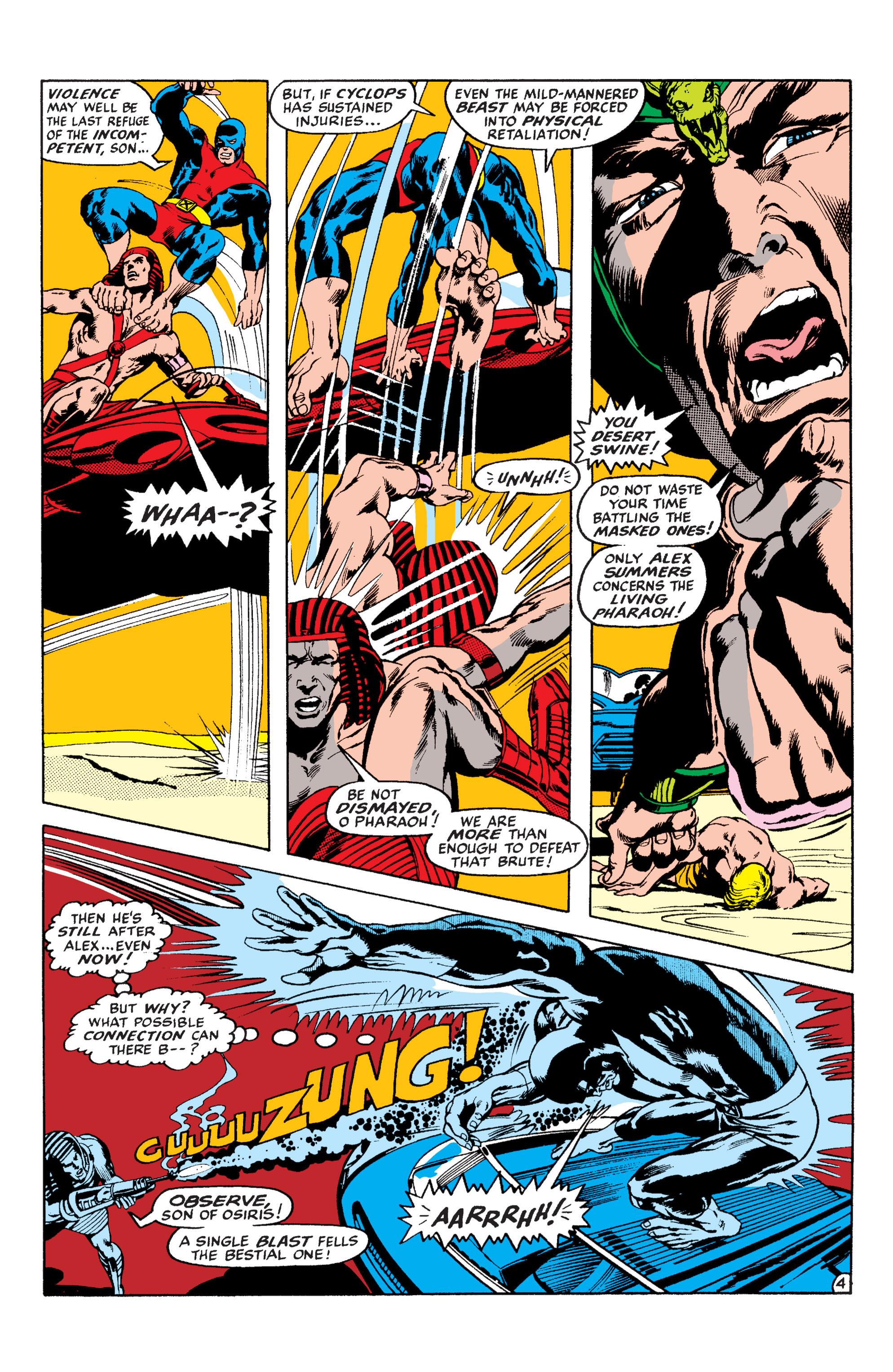 Uncanny X-Men (1963) 56 Page 4