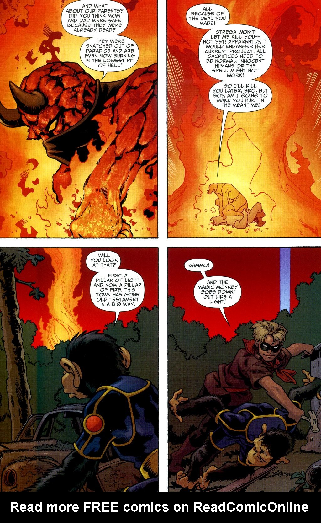 Read online Shadowpact comic -  Issue #2 - 12