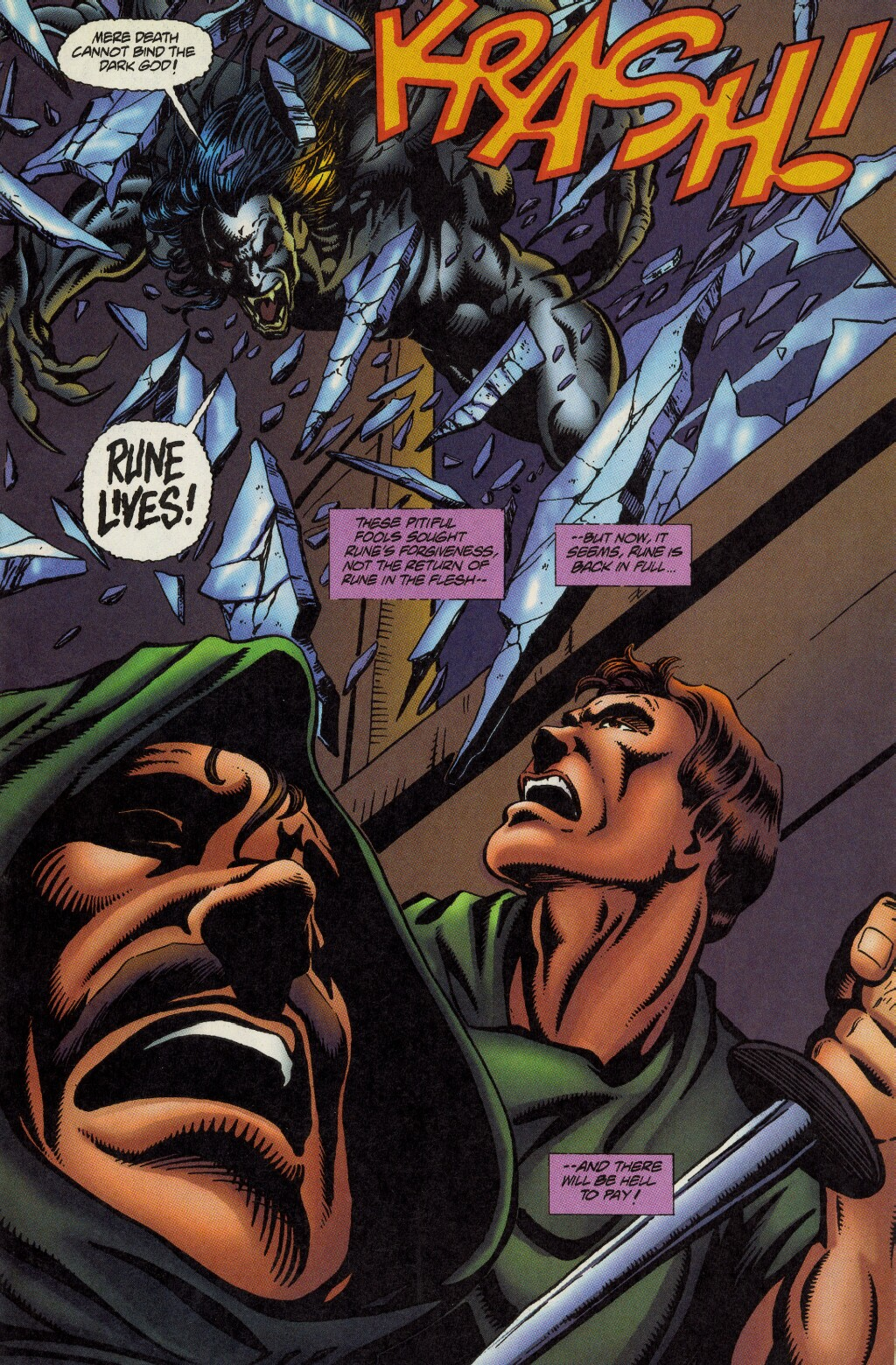 Read online Rune (1995) comic -  Issue #5 - 10