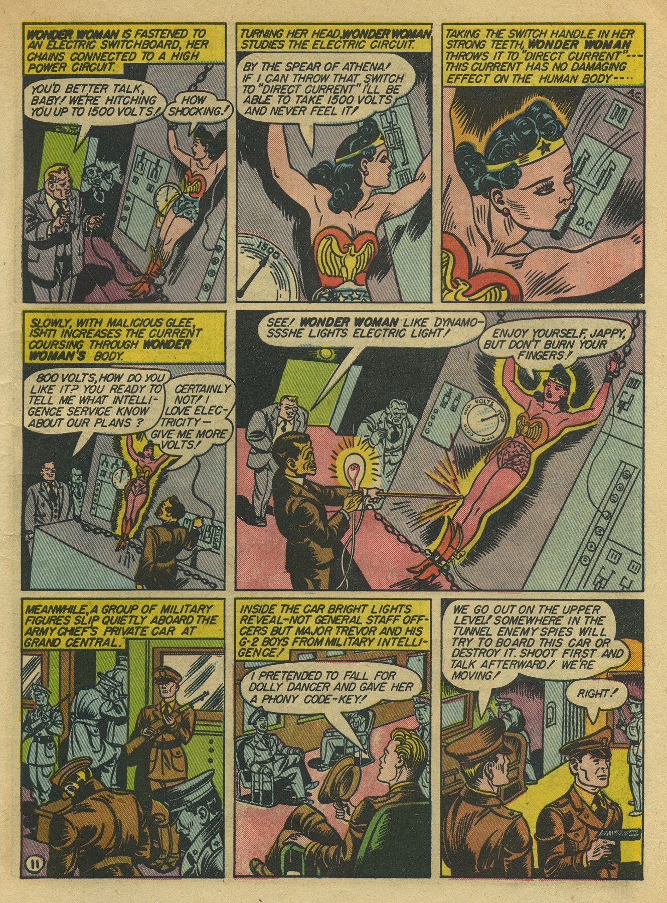 Read online Sensation (Mystery) Comics comic -  Issue #10 - 13