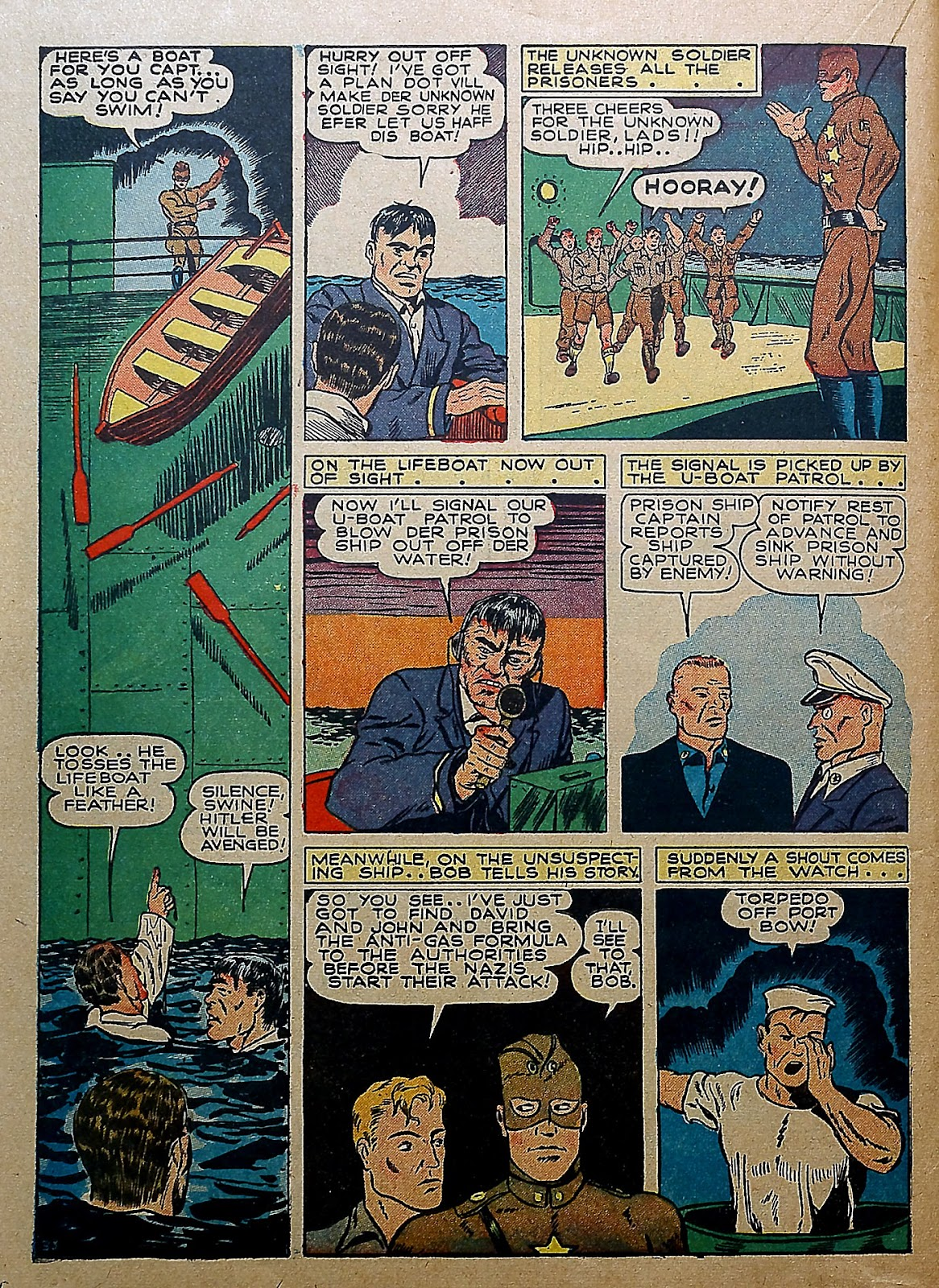 Our Flag Comics issue 5 - Page 35