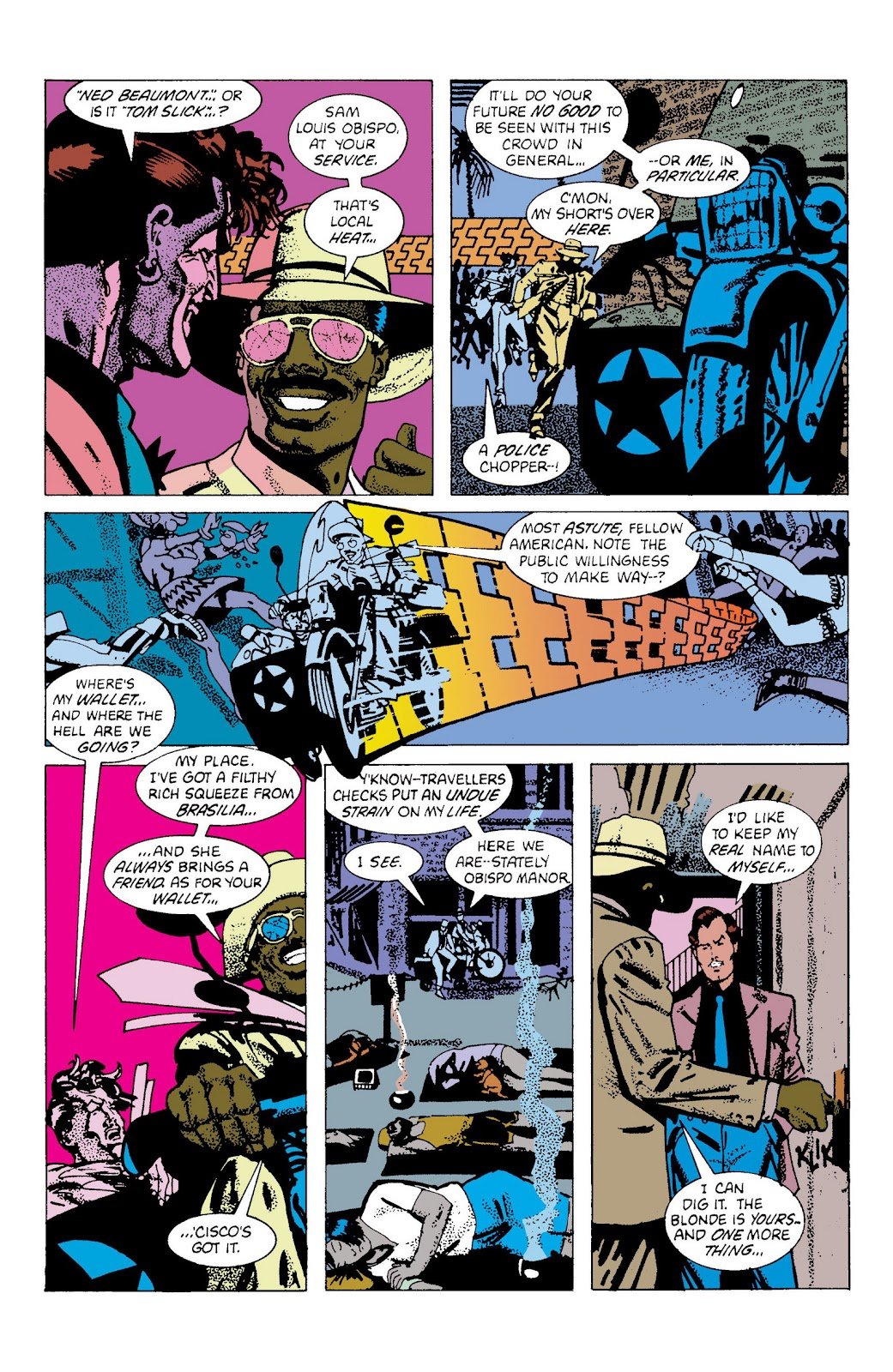 American Flagg! issue Definitive Collection (Part 2) - Page 58