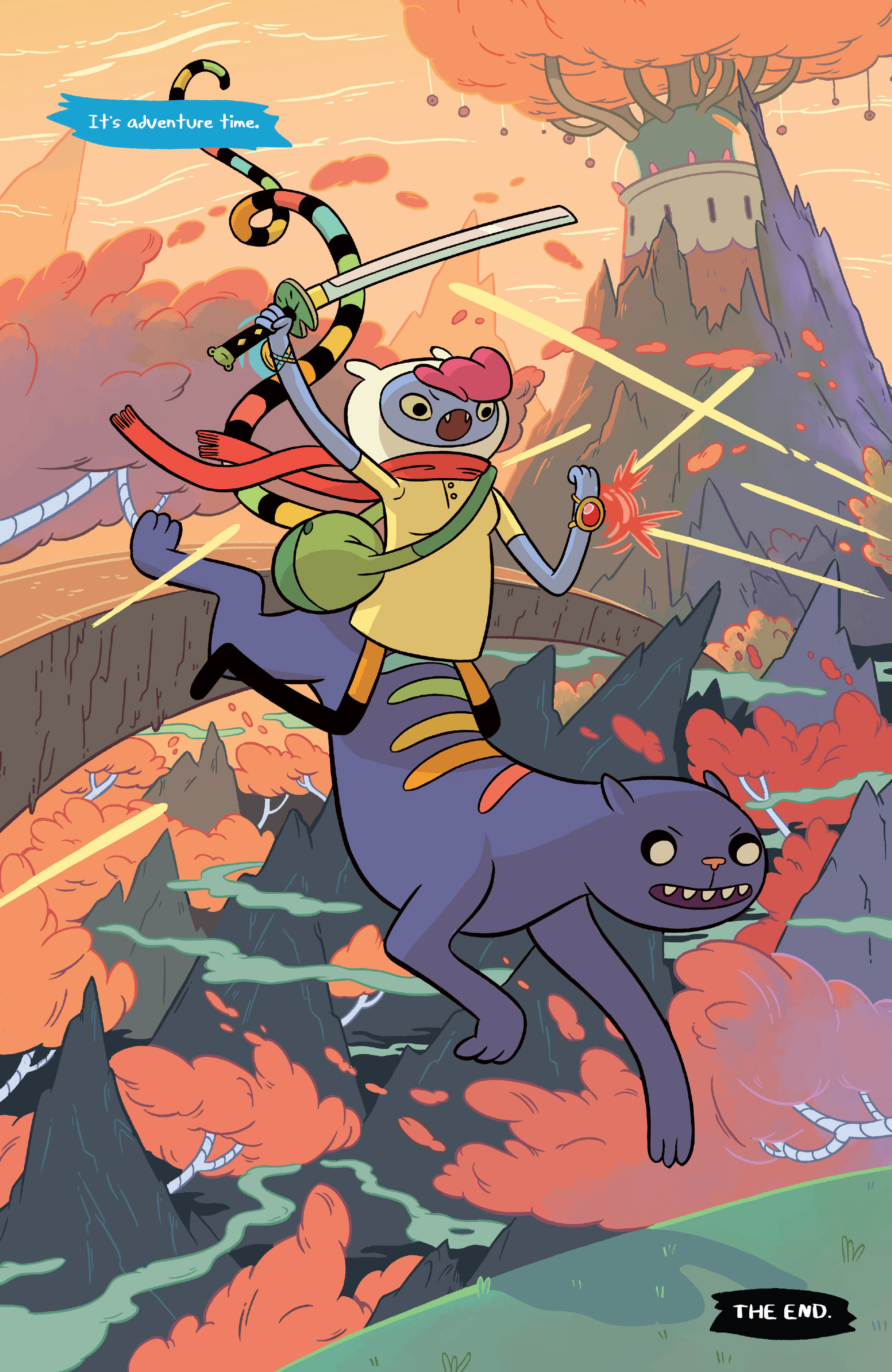 Read online Adventure Time comic -  Issue #Adventure Time _TPB 6 - 33