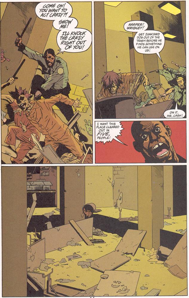 Read online Arkham Asylum: Living Hell comic -  Issue #2 - 12