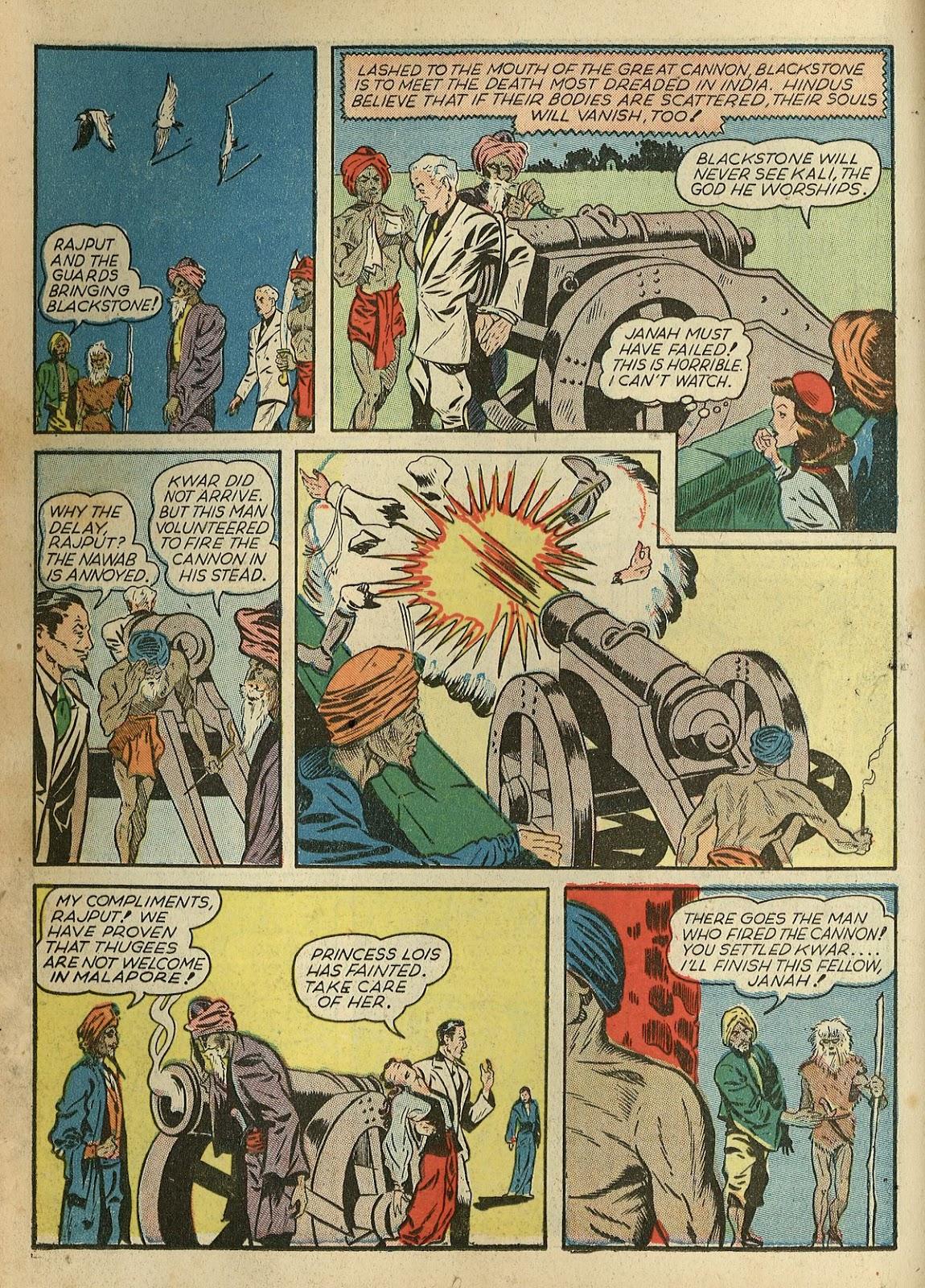 Read online Super-Magician Comics comic -  Issue #1 - 24