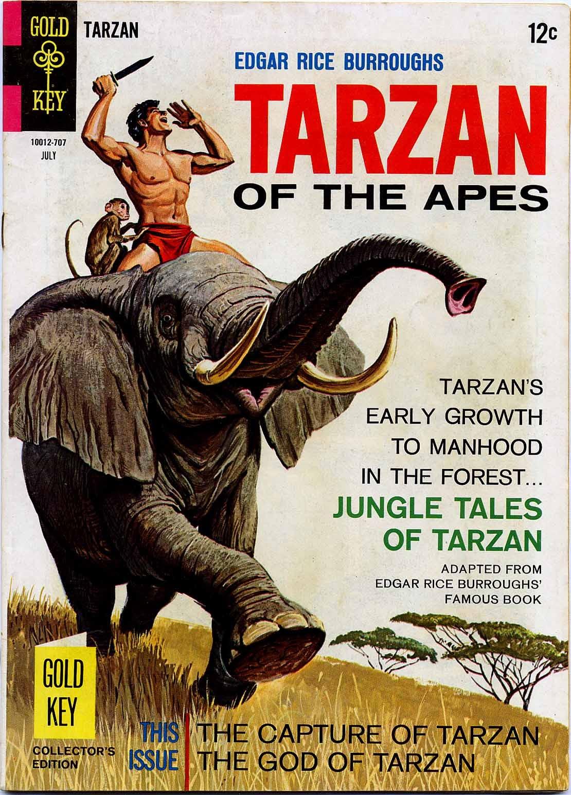 Tarzan (1962) issue 169 - Page 1