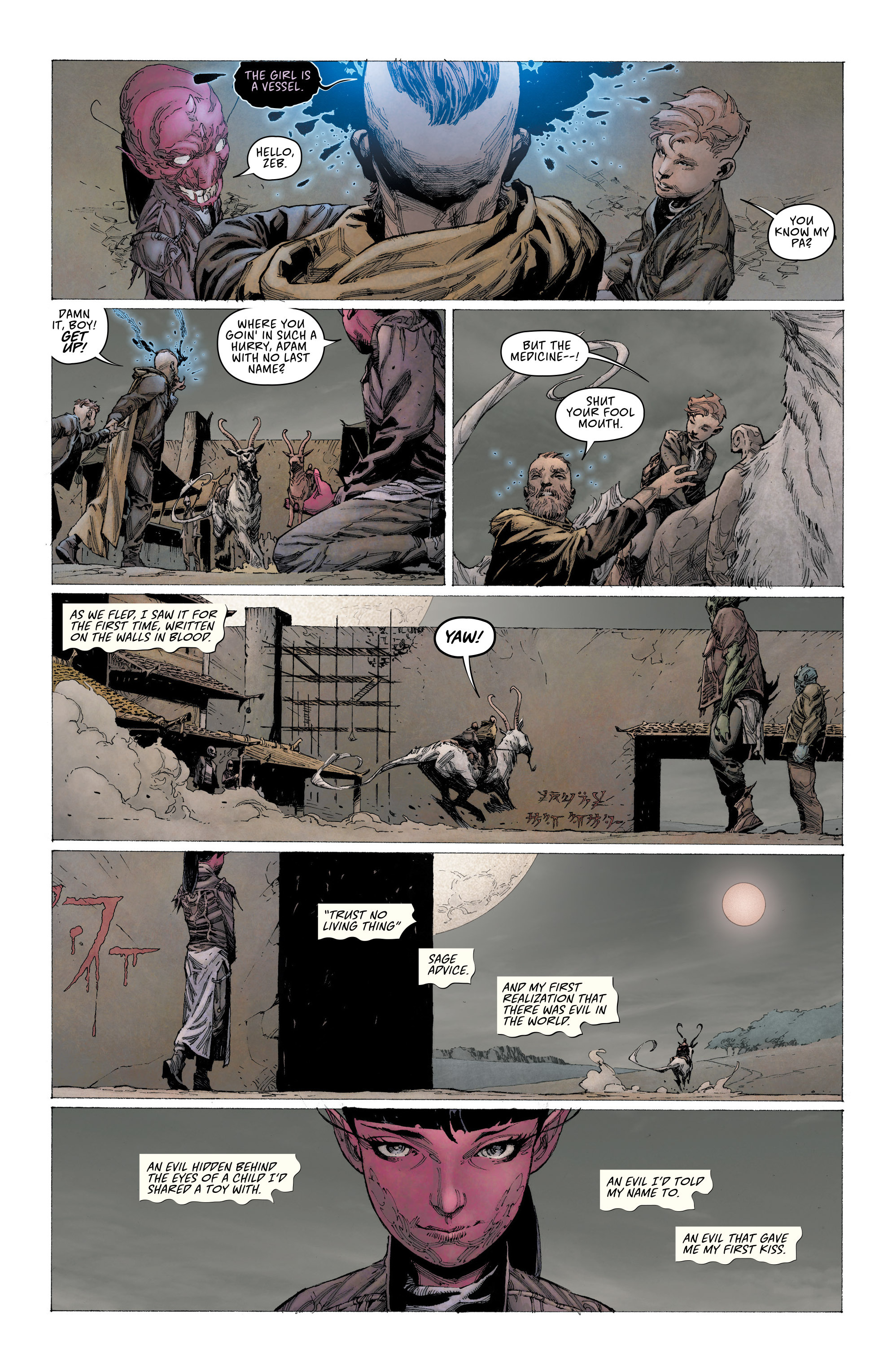 Read online Seven To Eternity comic -  Issue #2 - 7