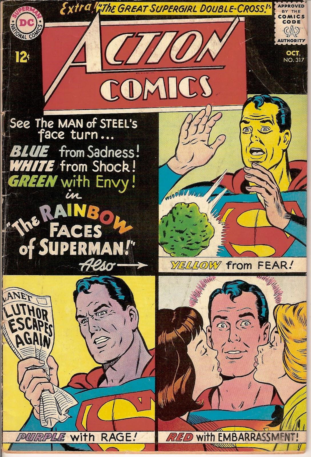 Action Comics (1938) 317 Page 1