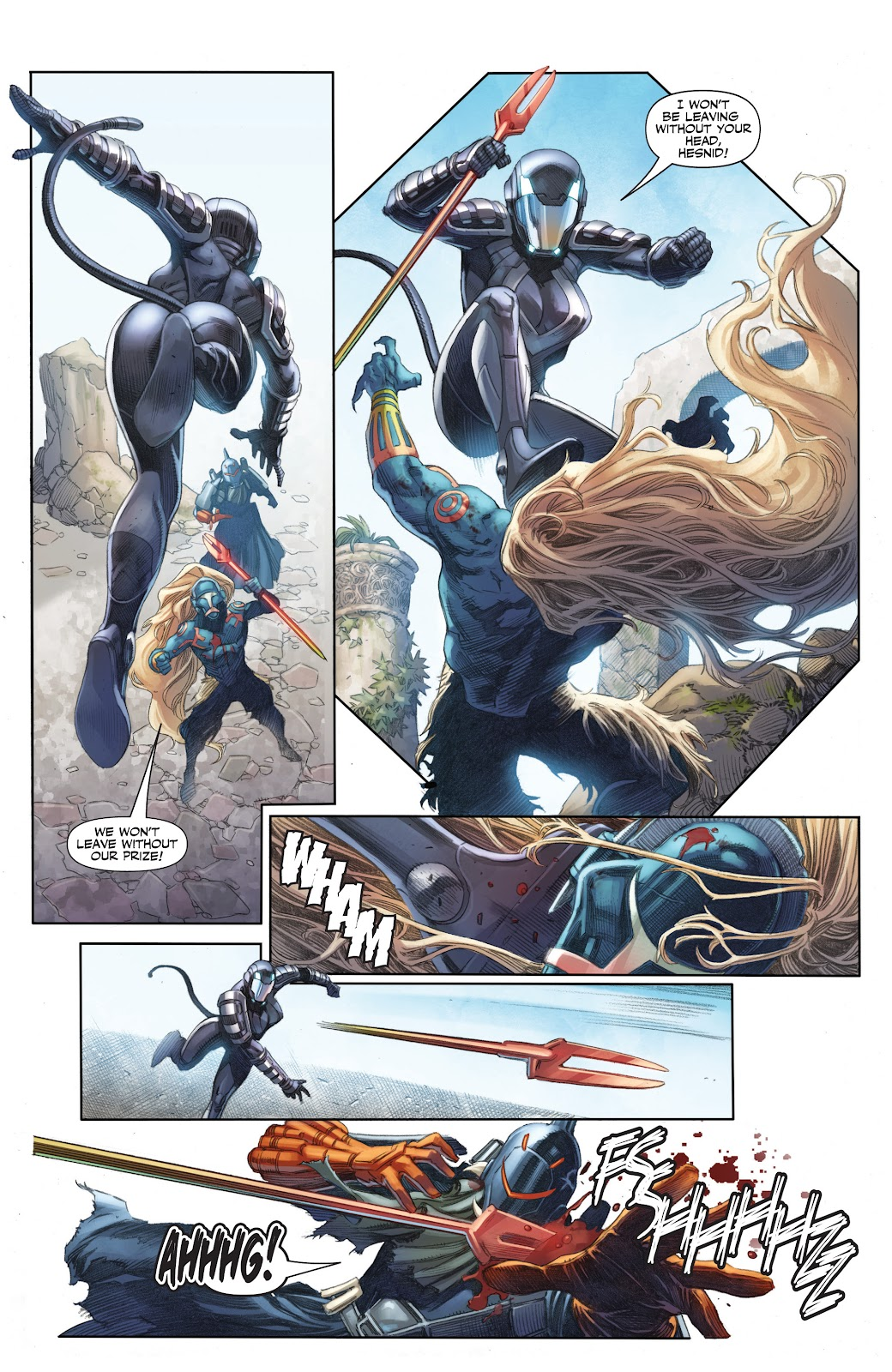 Read online X-O Manowar (2017) comic -  Issue #25 - 7