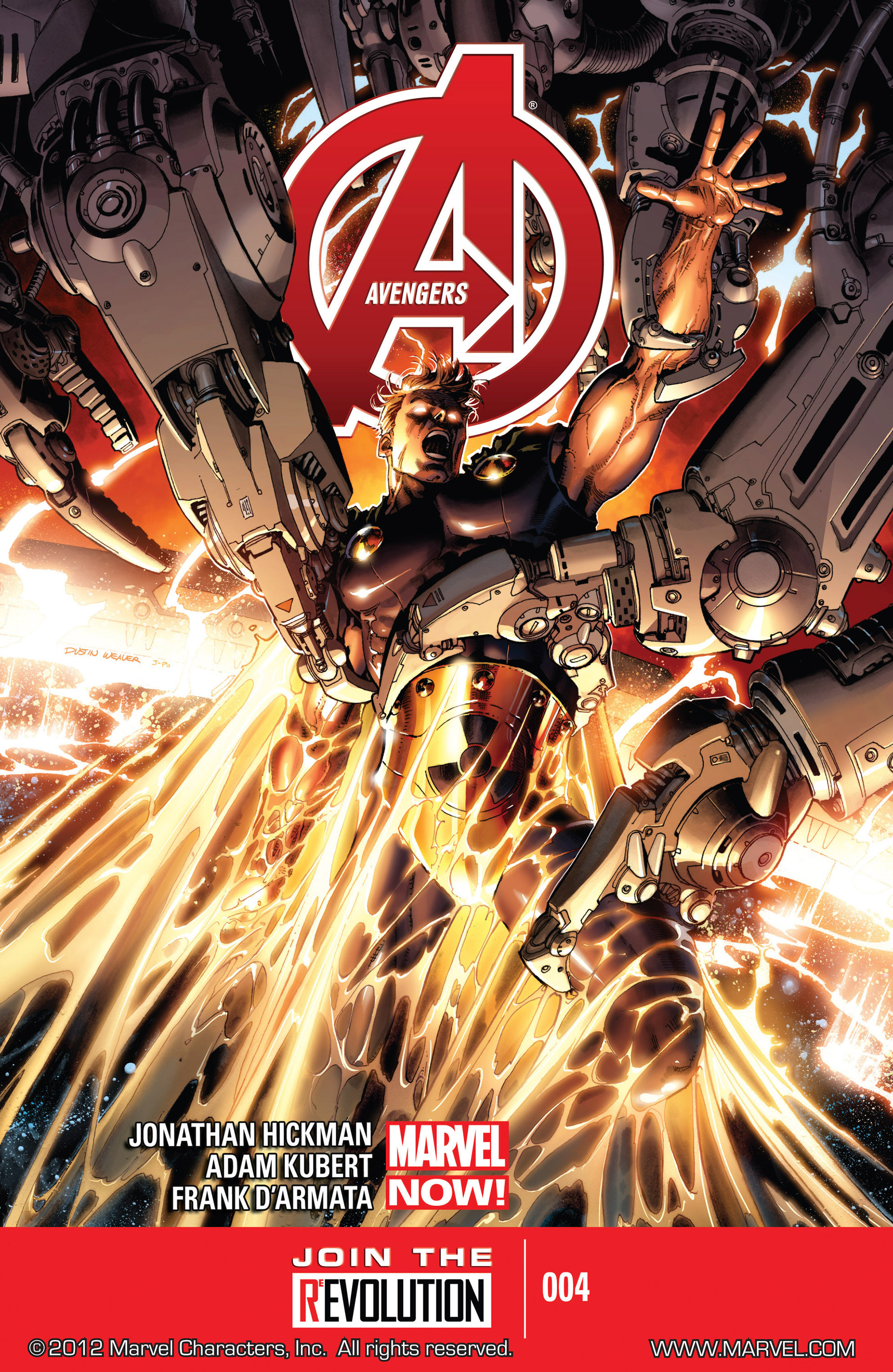 Read online Avengers (2013) comic -  Issue #4 - 1