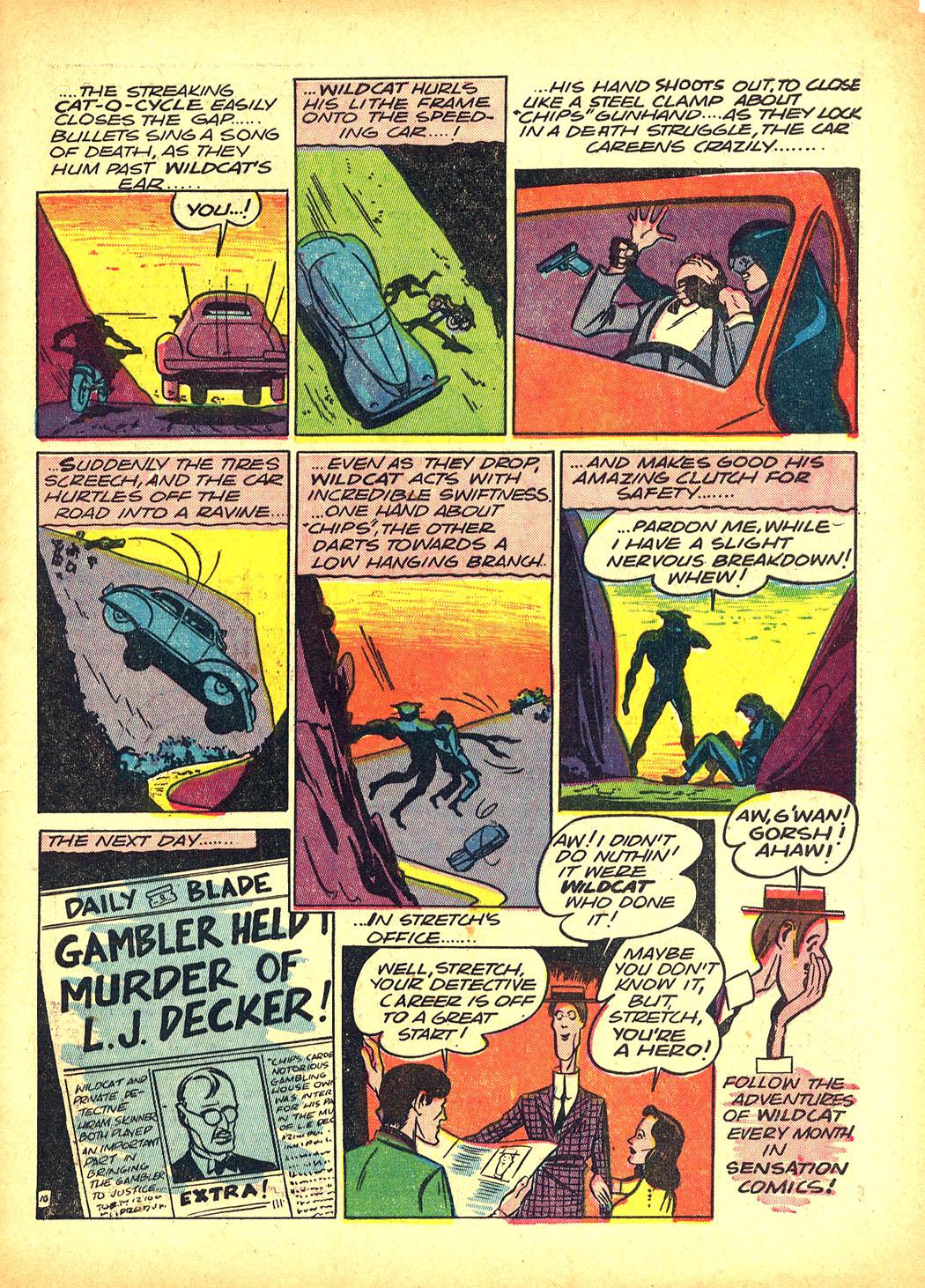 Read online Sensation (Mystery) Comics comic -  Issue #5 - 65