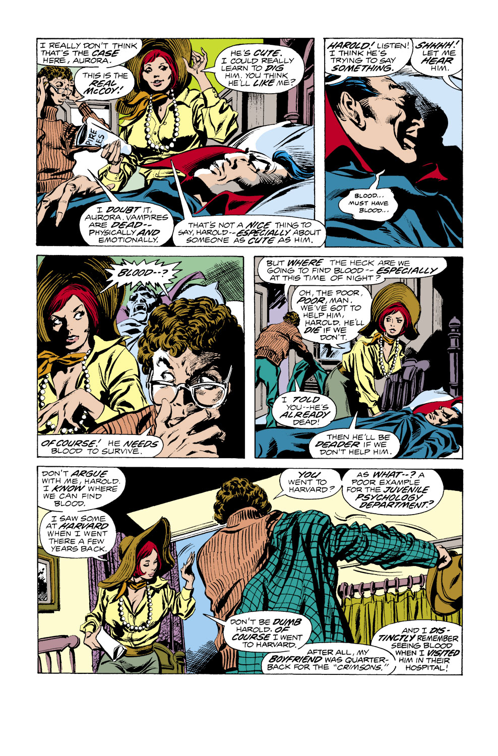 Tomb of Dracula (1972) issue 38 - Page 4
