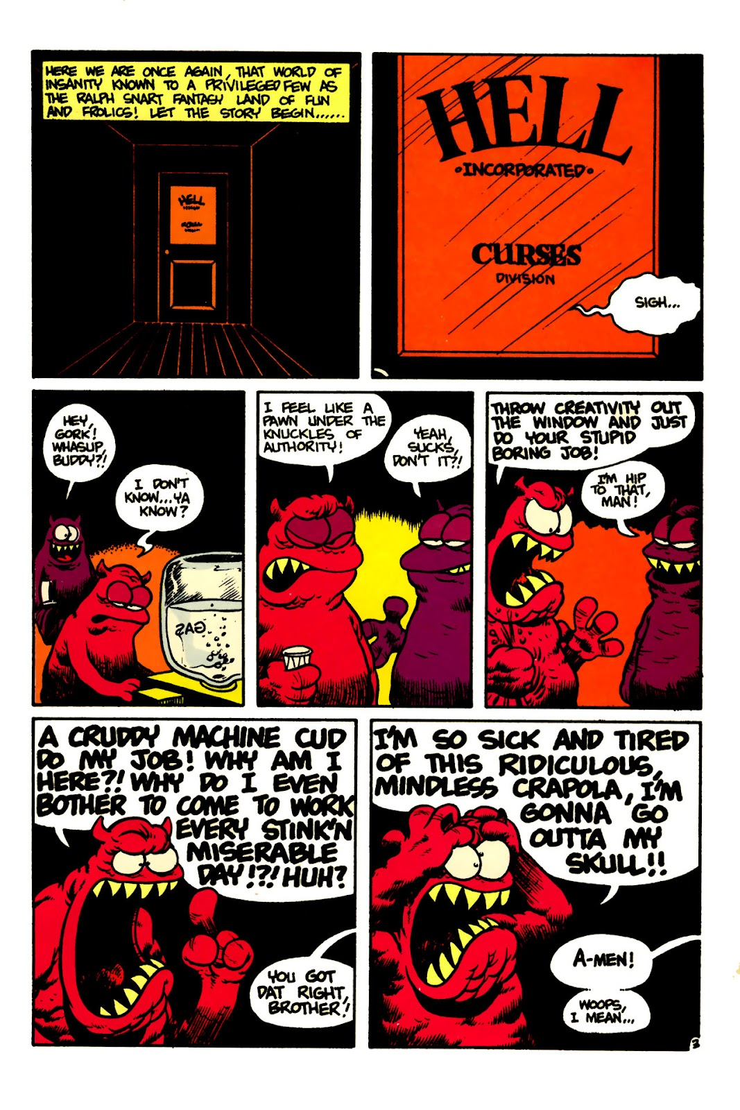 Ralph Snart Adventures (1988) issue 5 - Page 5