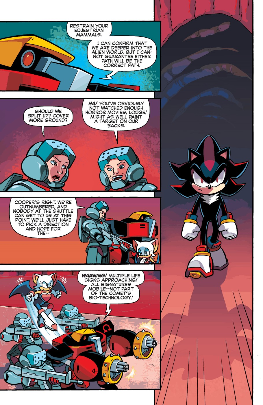 Read online Sonic Universe comic -  Issue #60 - 20