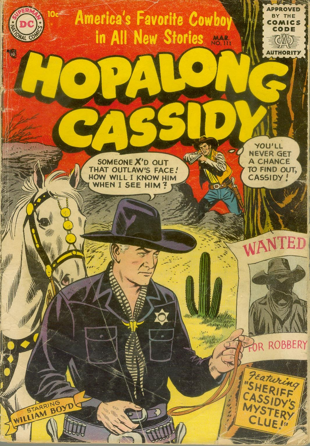 Hopalong Cassidy issue 111 - Page 1