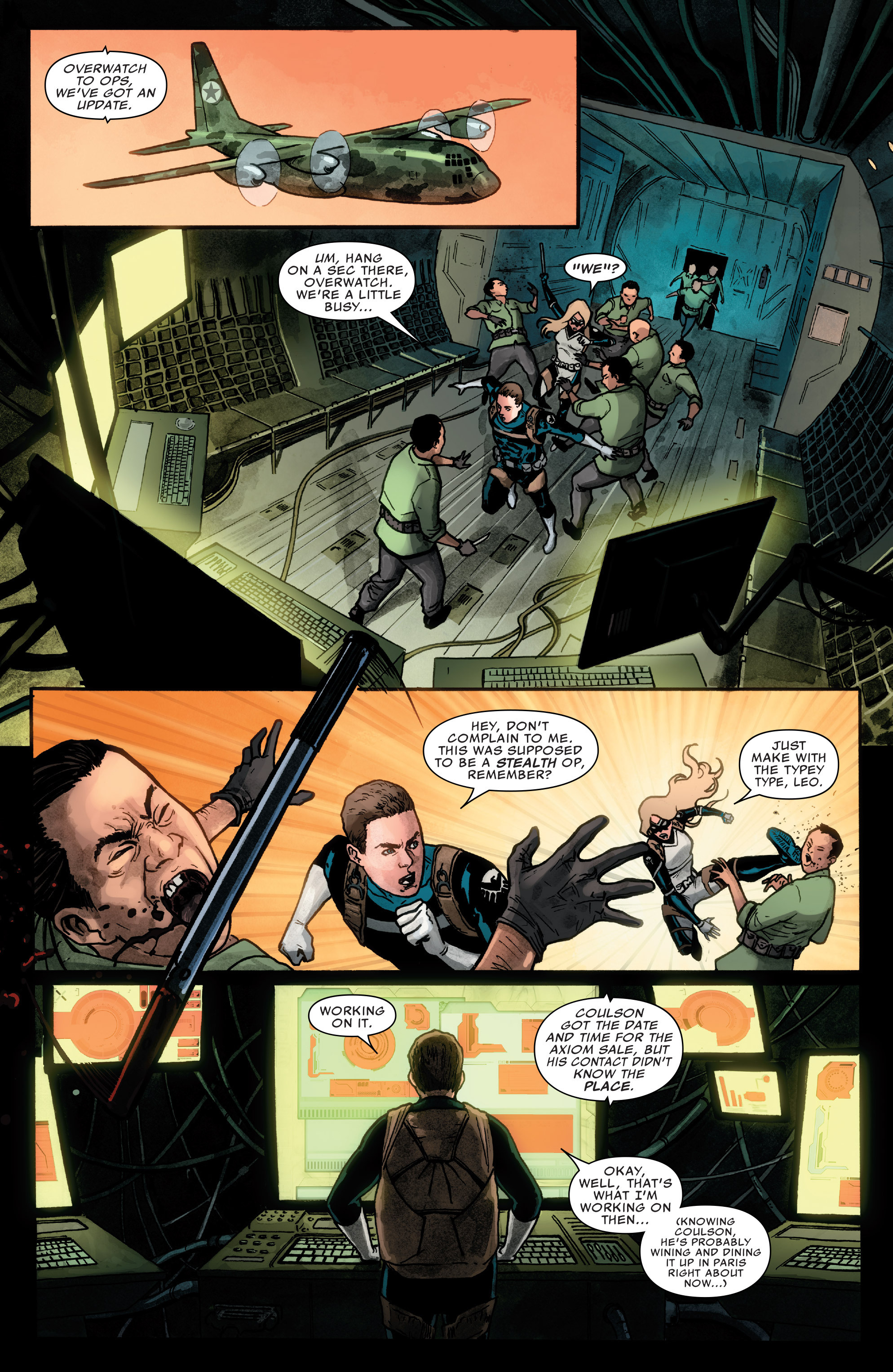 Read online Agents of S.H.I.E.L.D. comic -  Issue #2 - 18