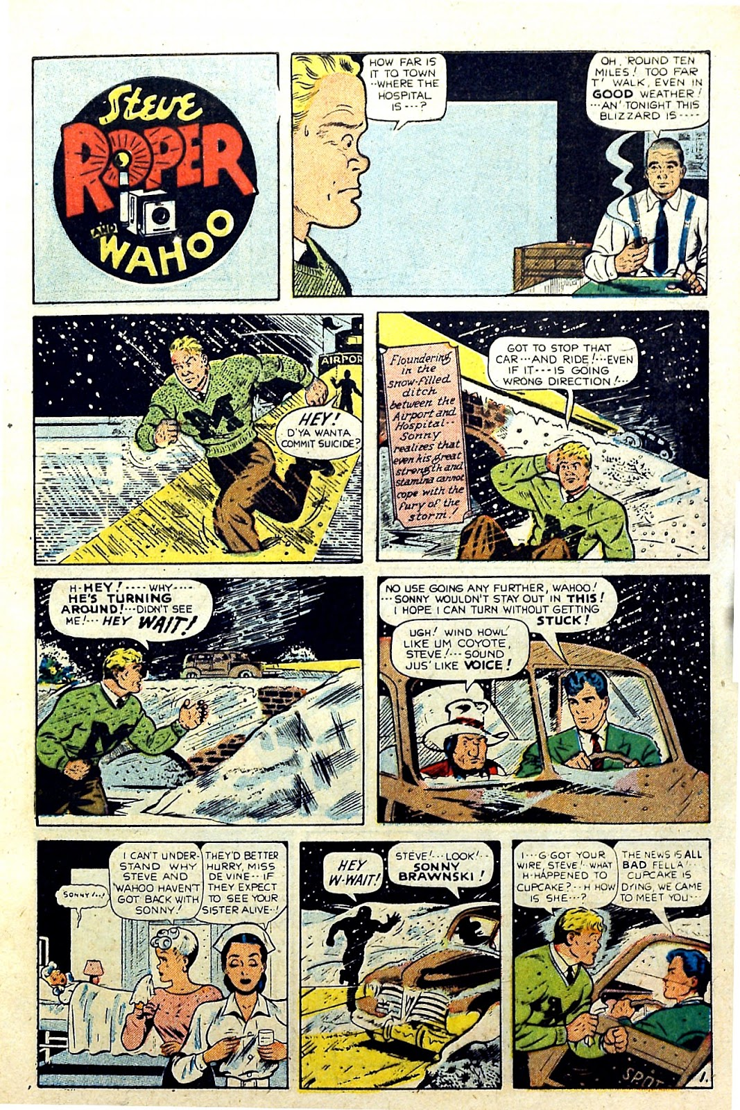 Read online Famous Funnies comic -  Issue #187 - 9