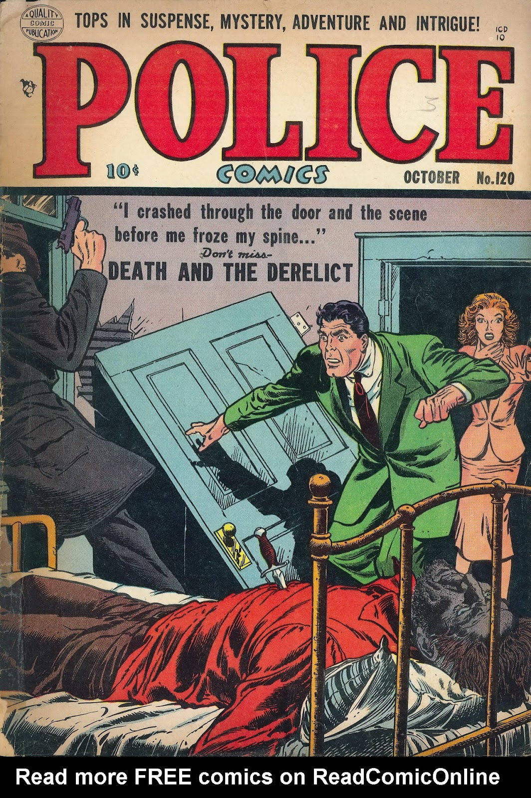 Police Comics 120 Page 1
