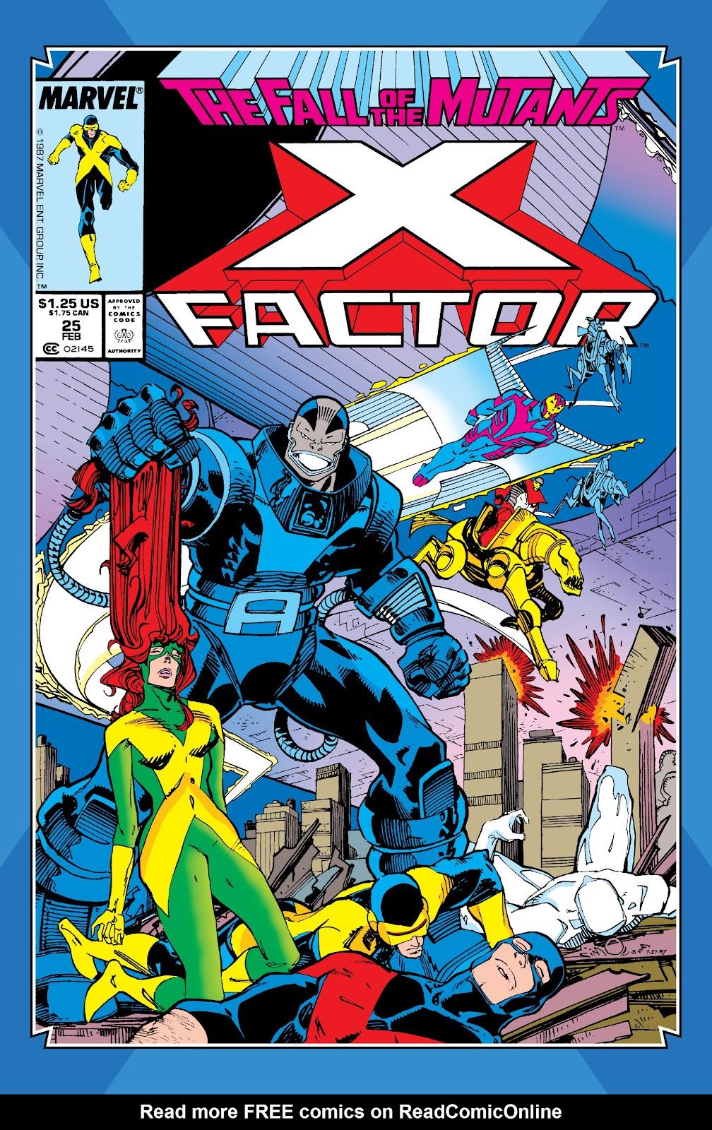 Read online X-Men Milestones: Fall of the Mutants comic -  Issue # TPB (Part 3) - 4