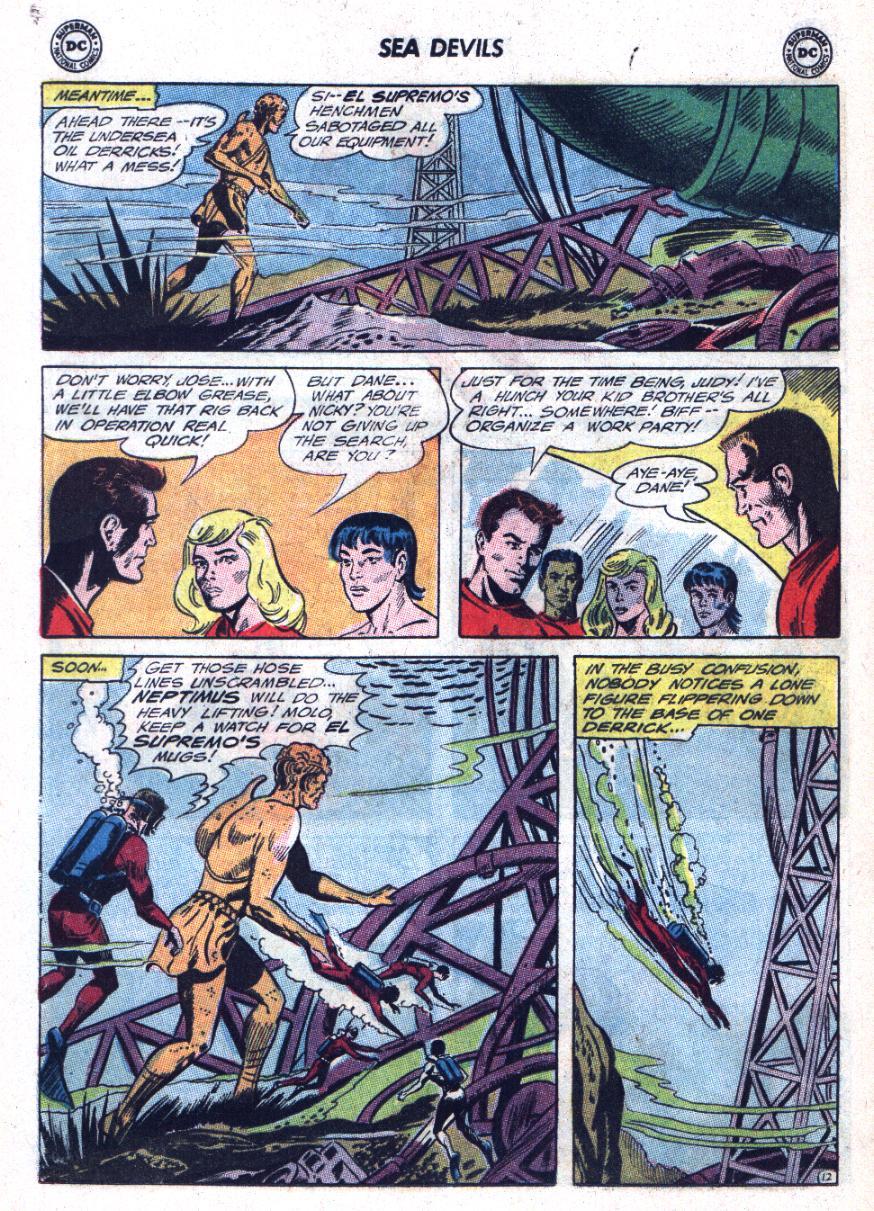 Read online Sea Devils comic -  Issue #25 - 17