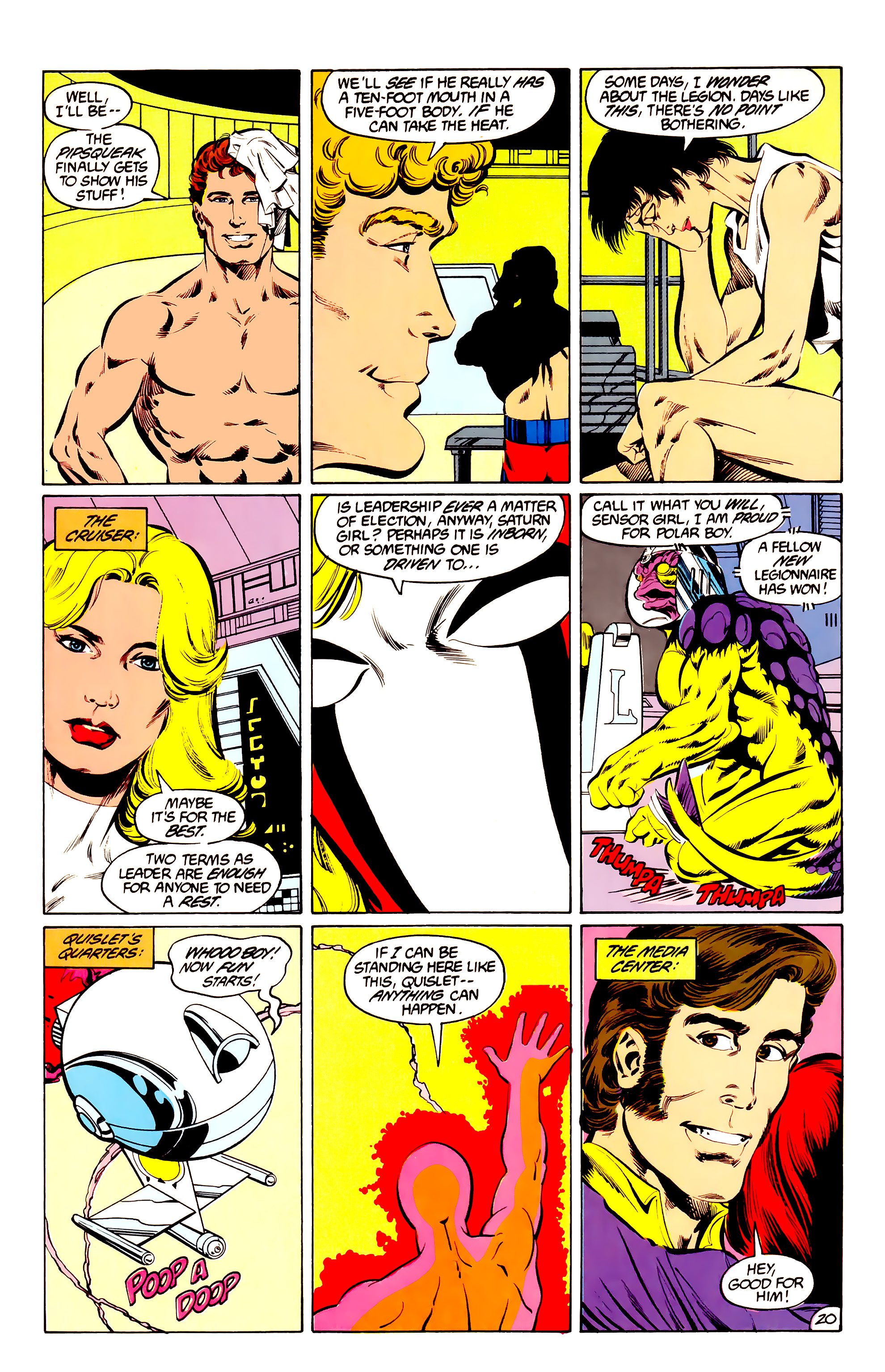 Legion of Super-Heroes (1984) 36 Page 20