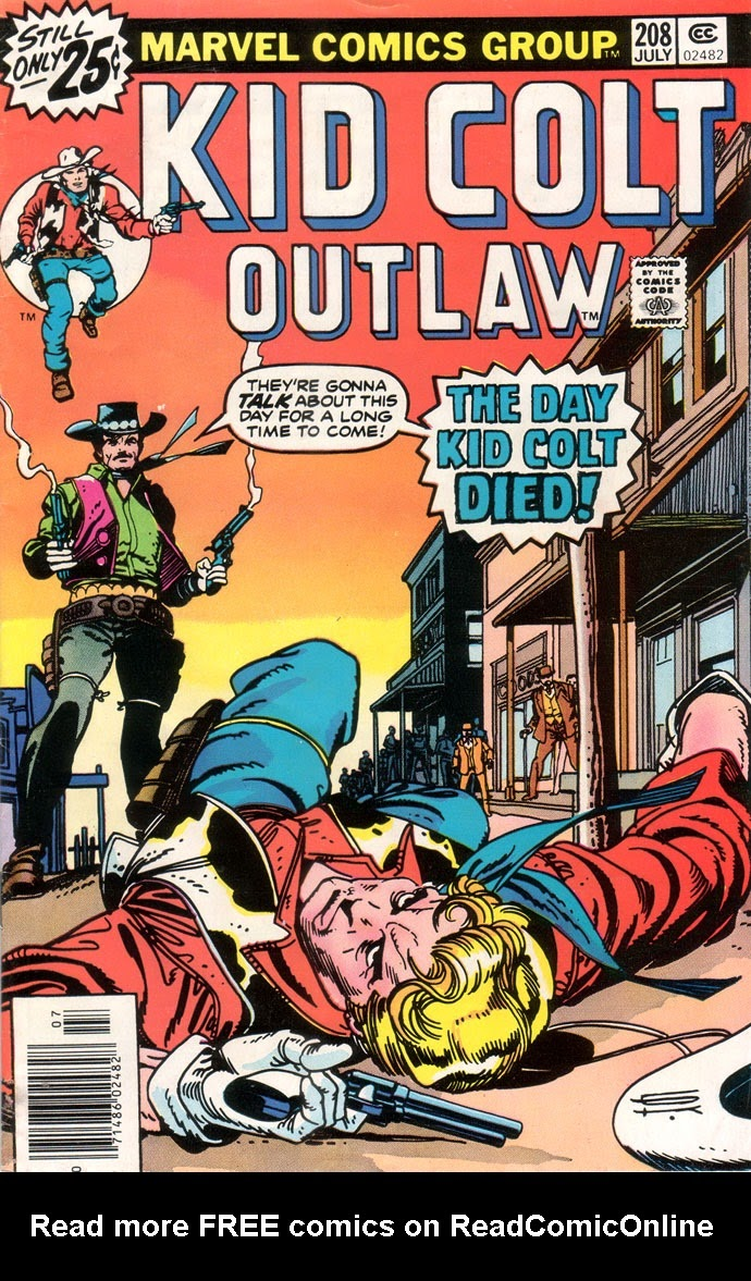 Kid Colt Outlaw issue 208 - Page 1