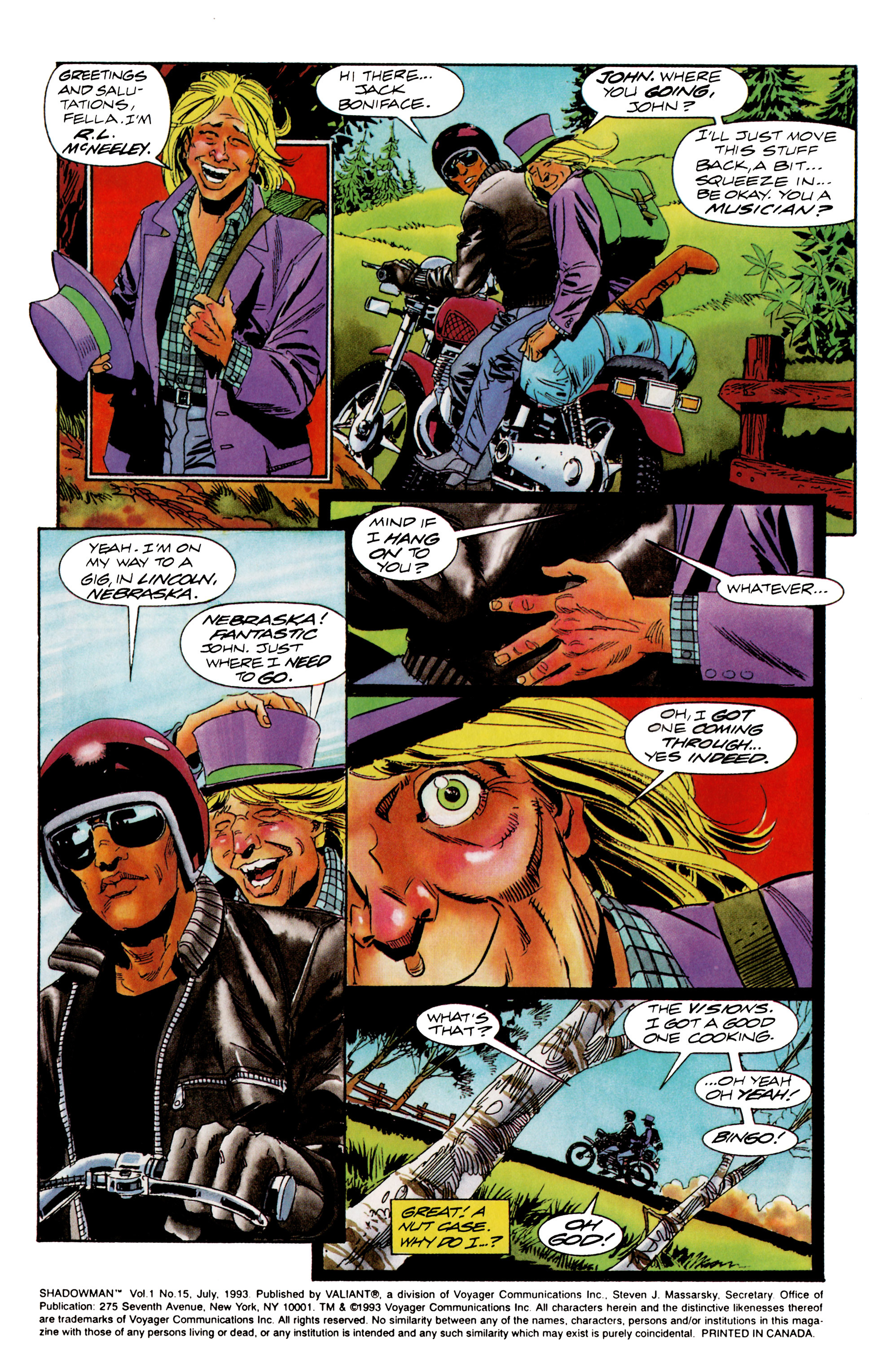 Read online Shadowman (1992) comic -  Issue #15 - 3