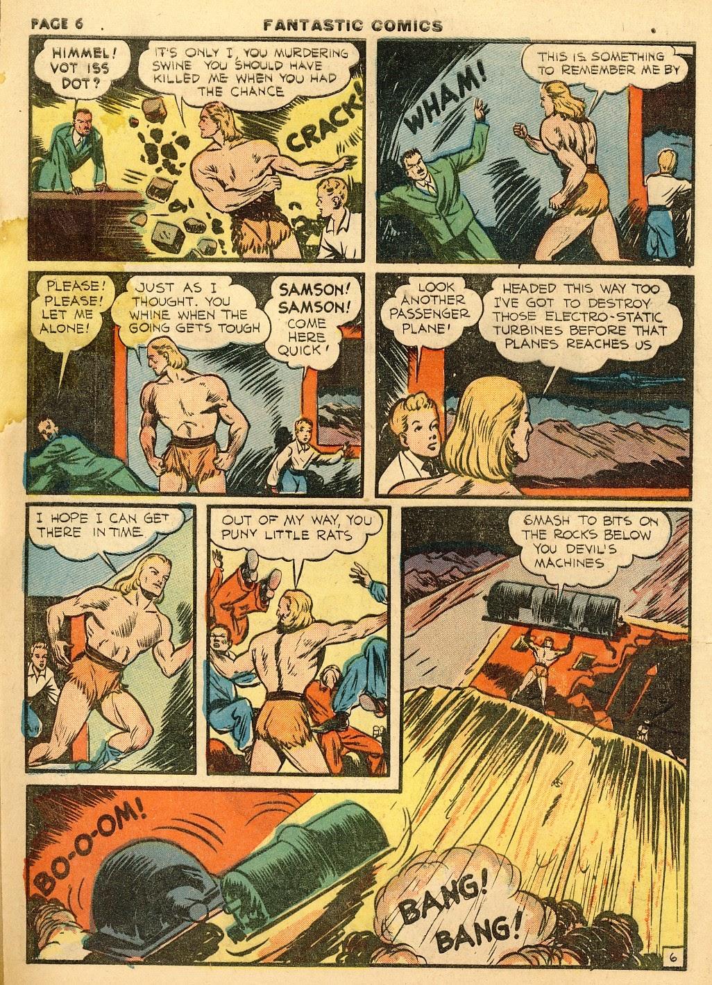 Read online Fantastic Comics comic -  Issue #10 - 7
