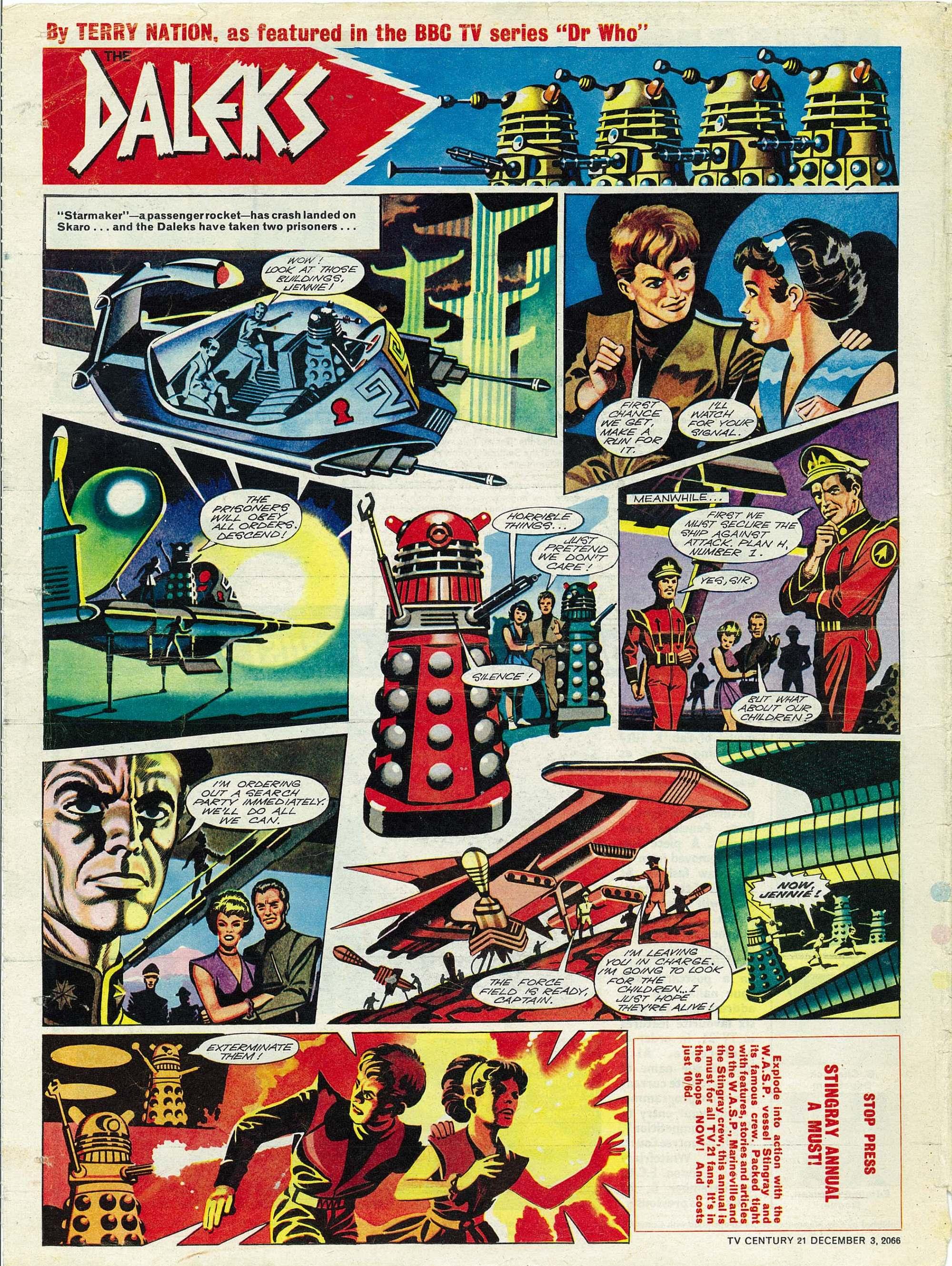 Read online TV Century 21 (TV 21) comic -  Issue #98 - 19