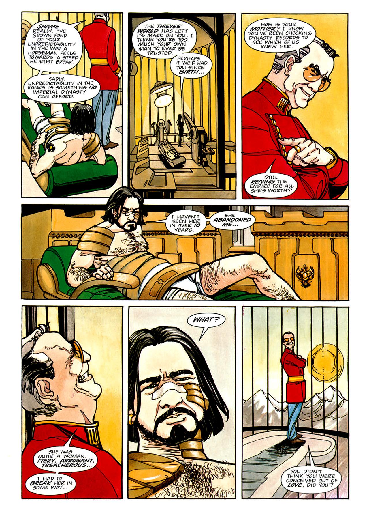 Read online Nikolai Dante comic -  Issue # TPB 1 - 90
