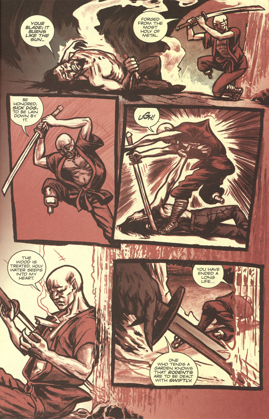 Read online Sea of Red comic -  Issue #4 - 23