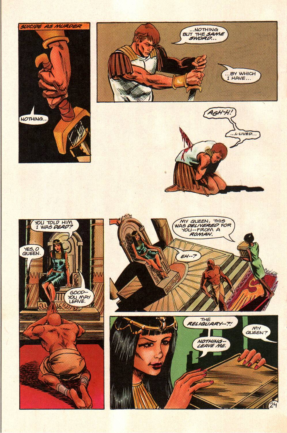 Read online Aztec Ace comic -  Issue #14 - 24