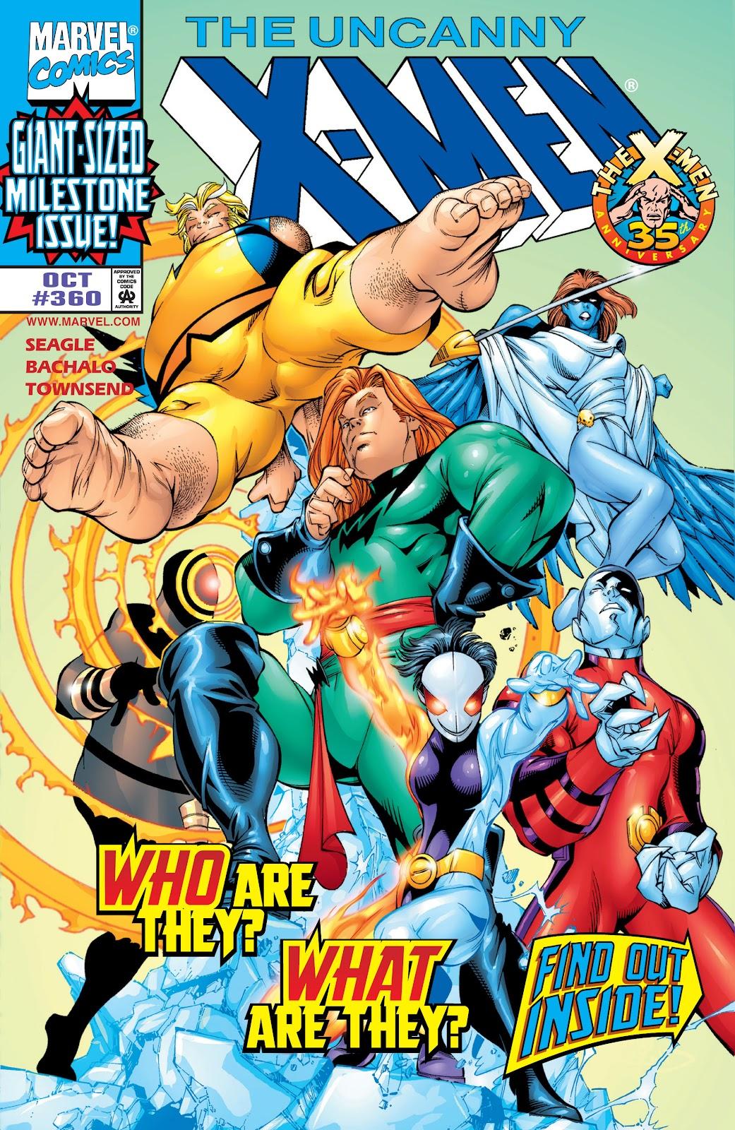 Uncanny X-Men (1963) 360 Page 1