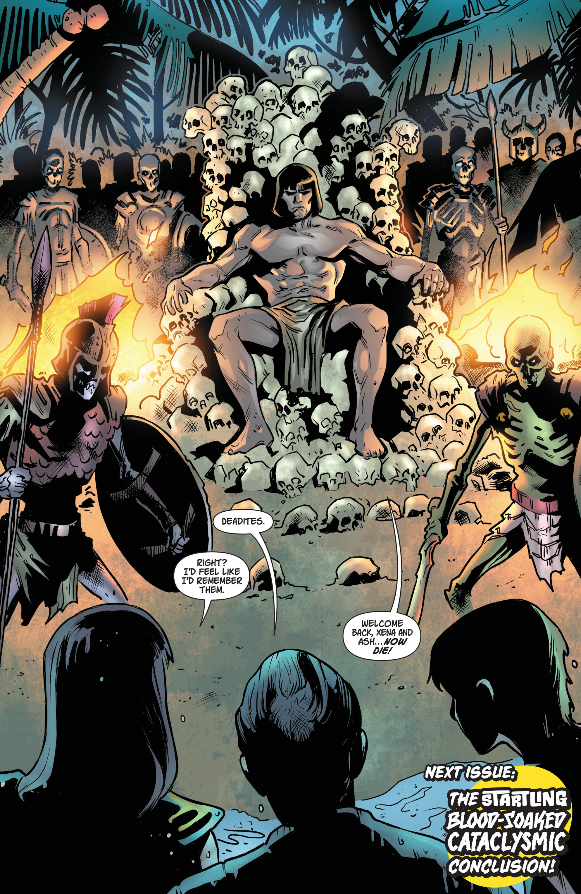 Read online Army Of Darkness/Xena: Forever…And A Day comic -  Issue #5 - 20