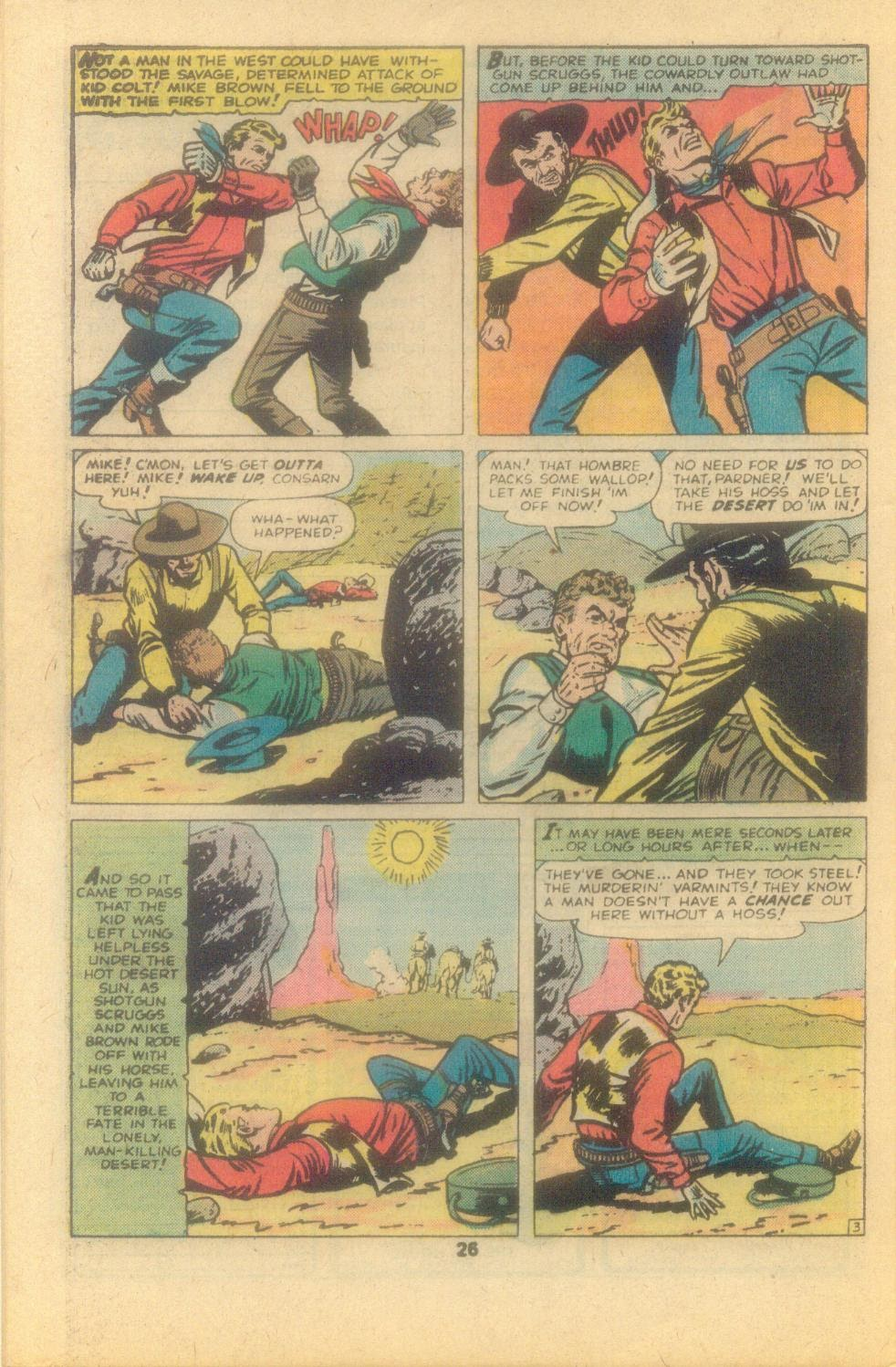 Kid Colt Outlaw issue 209 - Page 28