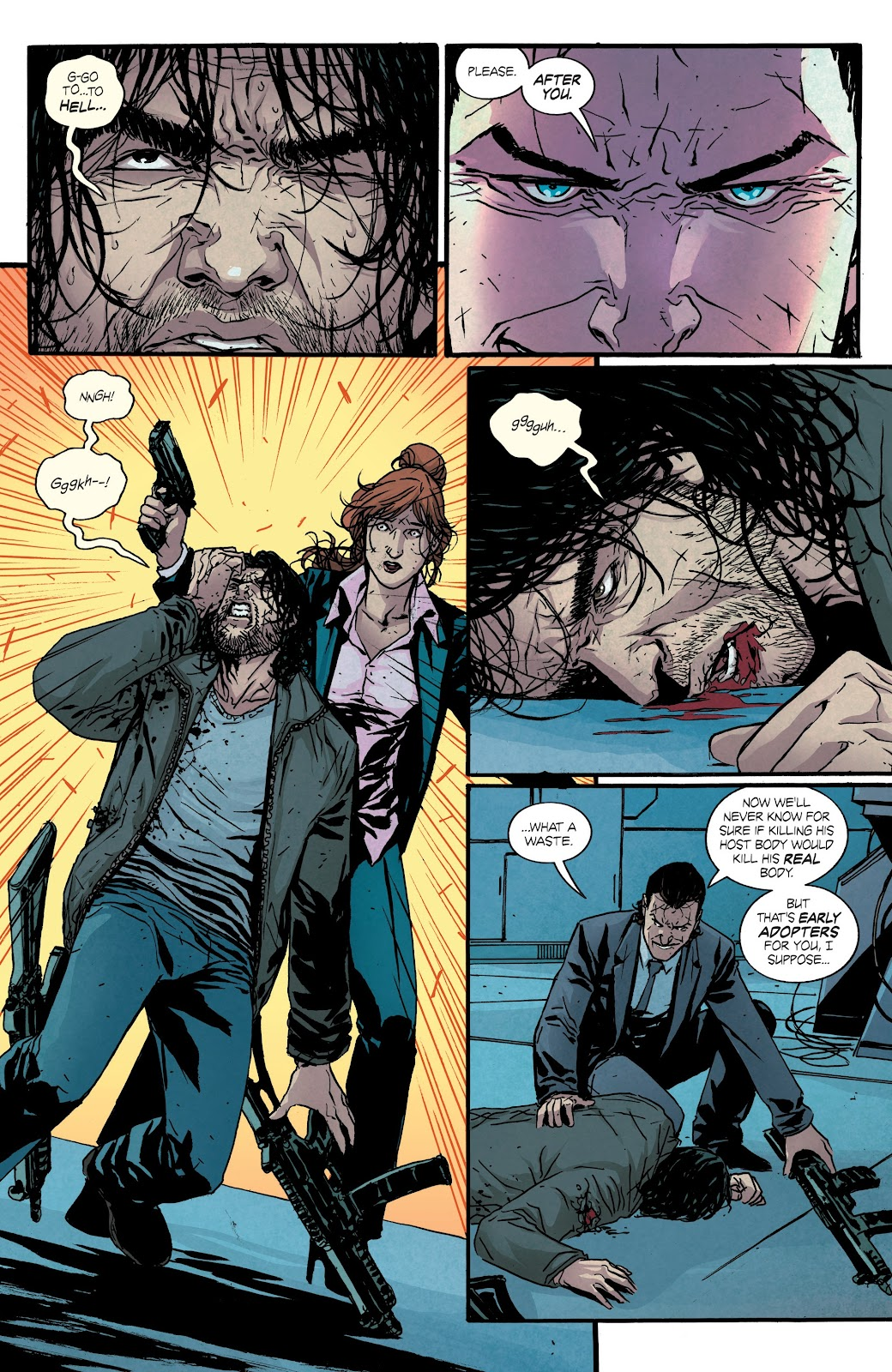 Read online Hardcore comic -  Issue #5 - 13